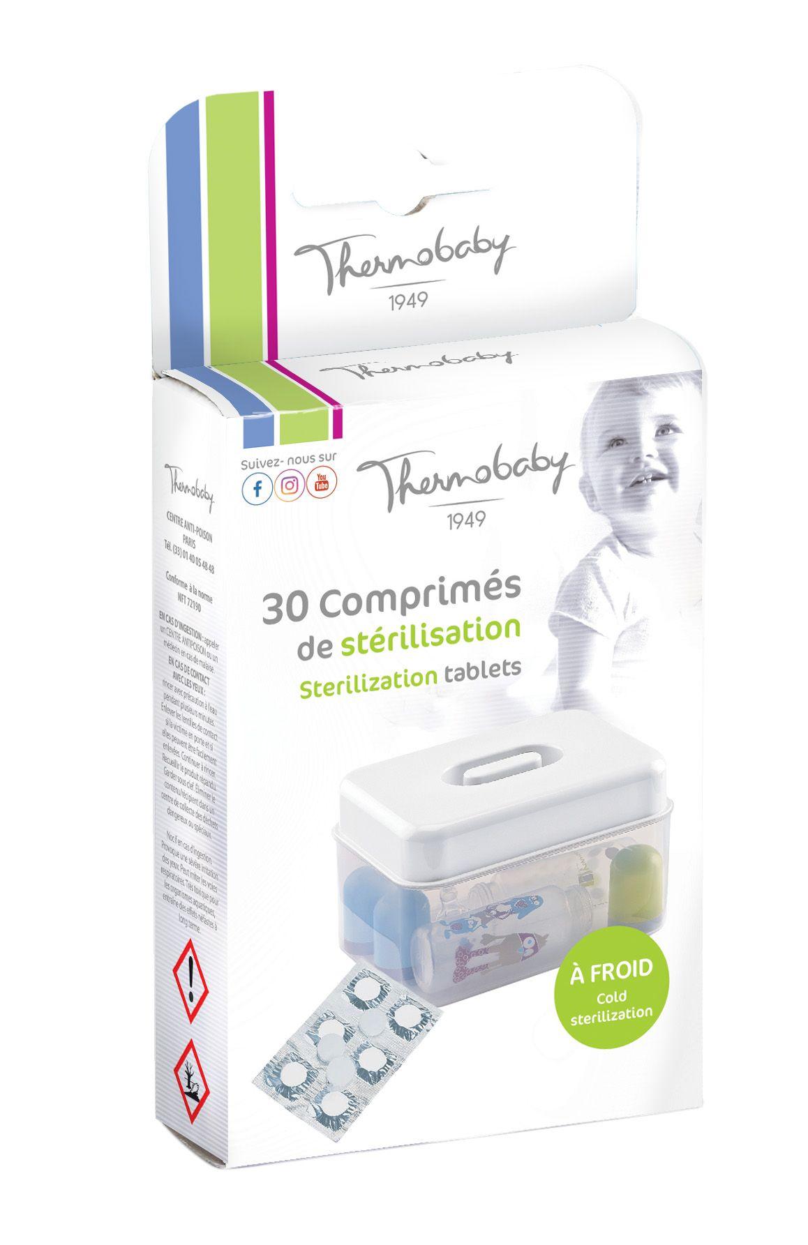 Sterilizační tablety 30 ks, White