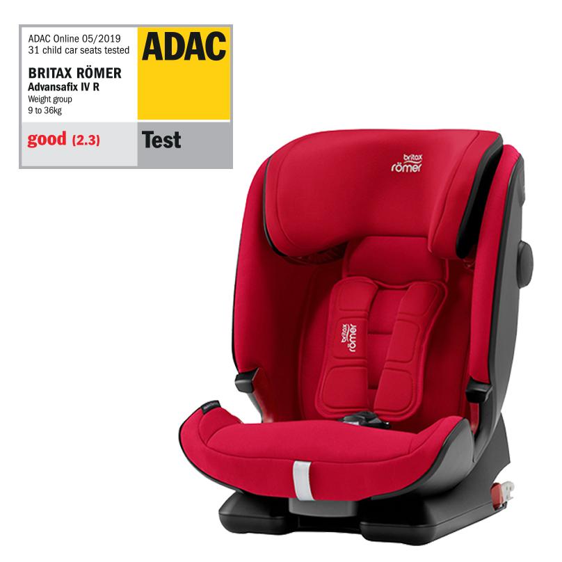 Autosedačka Advansafix IV R, Fire Red