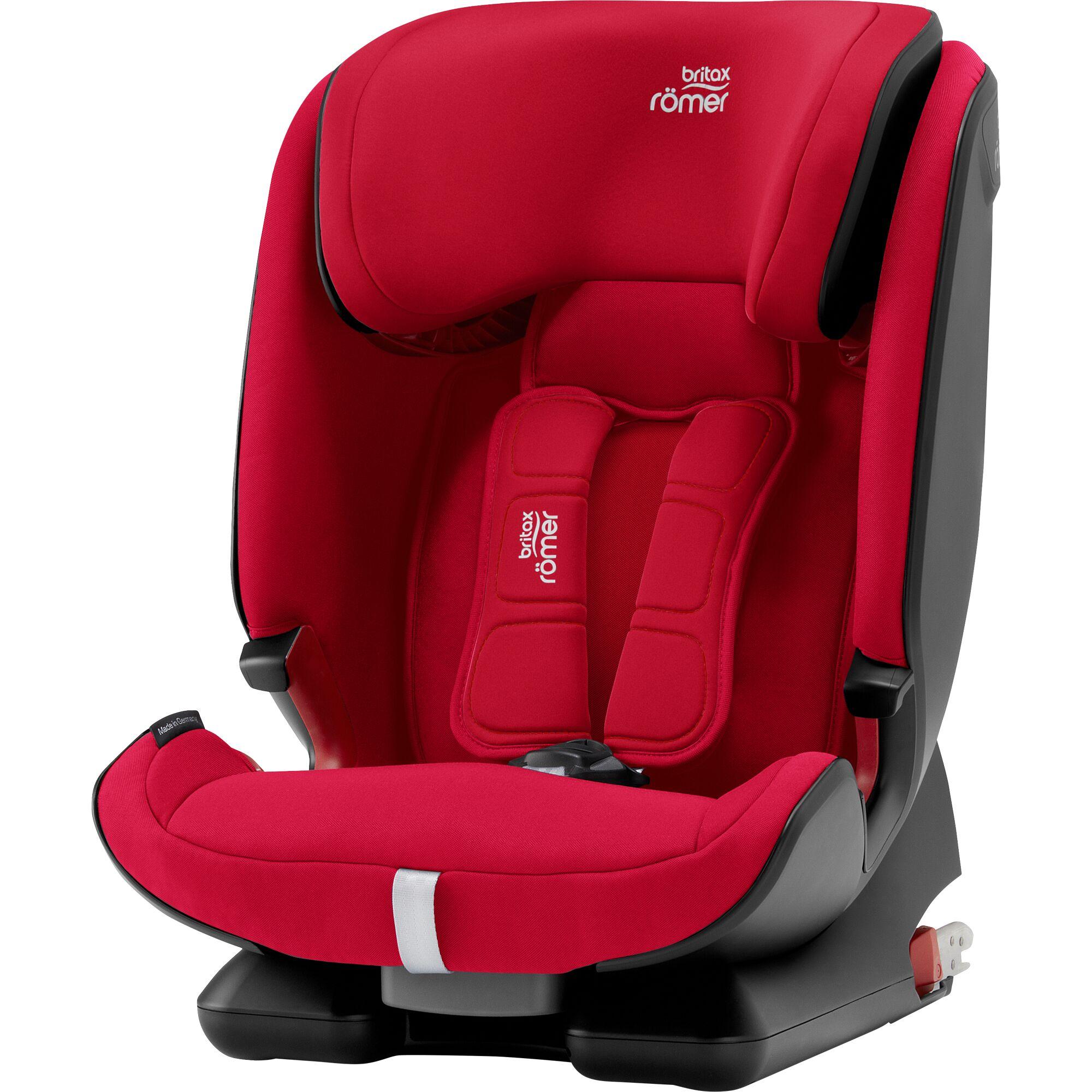 Autosedačka Advansafix IV M, Fire Red