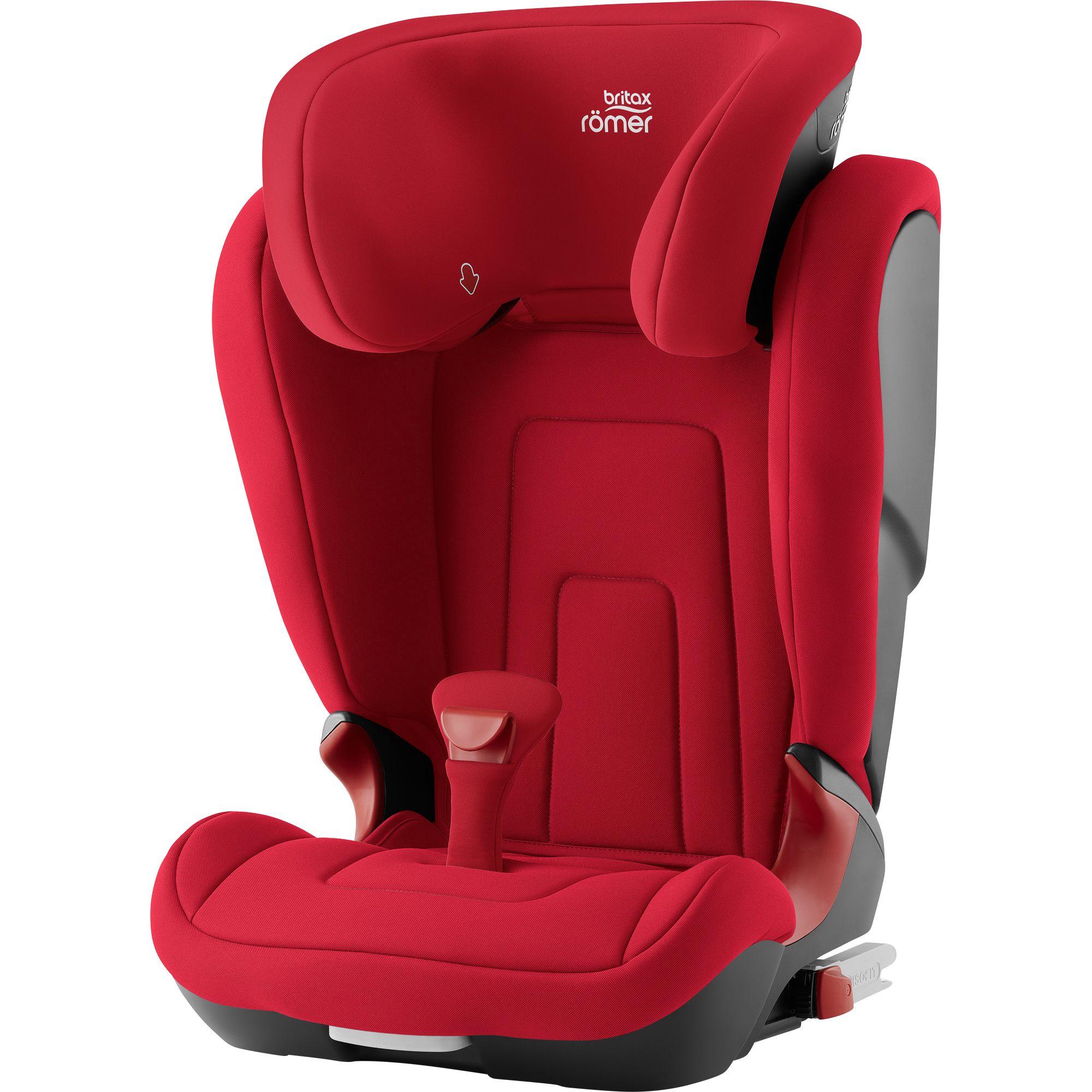 Autosedačka Kidfix 2 R, Fire Red