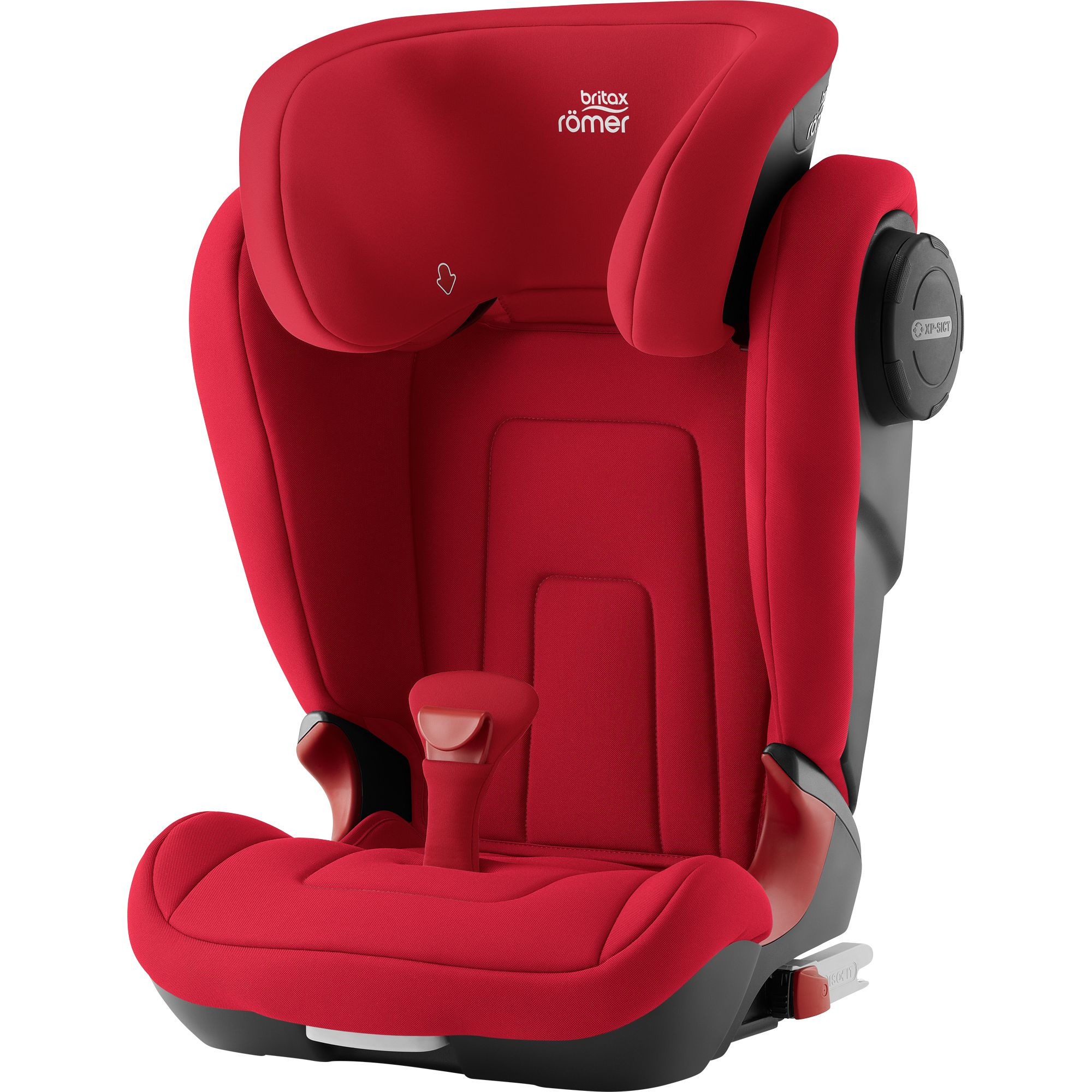 Autosedačka Kidfix 2 S, Fire Red
