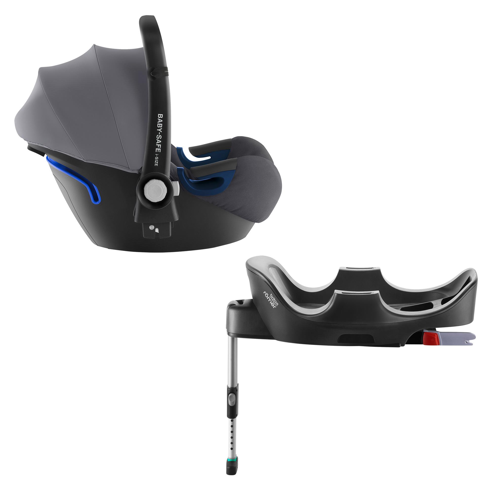 Autosedačka Baby-Safe 2 i-Size Bundle Flex, Storm Grey