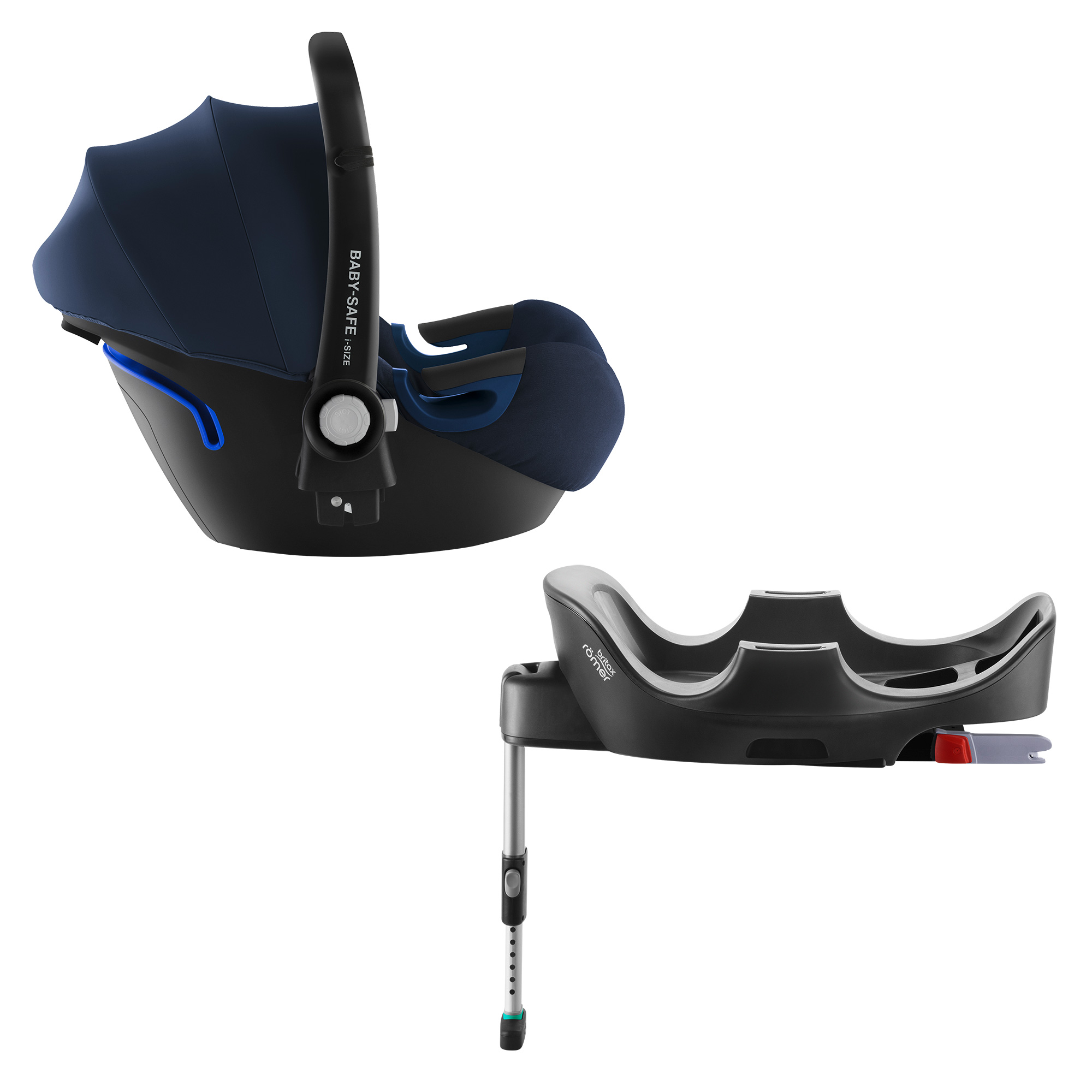 Autosedačka Baby-Safe 2 i-Size Bundle Flex, Moonlight Blue
