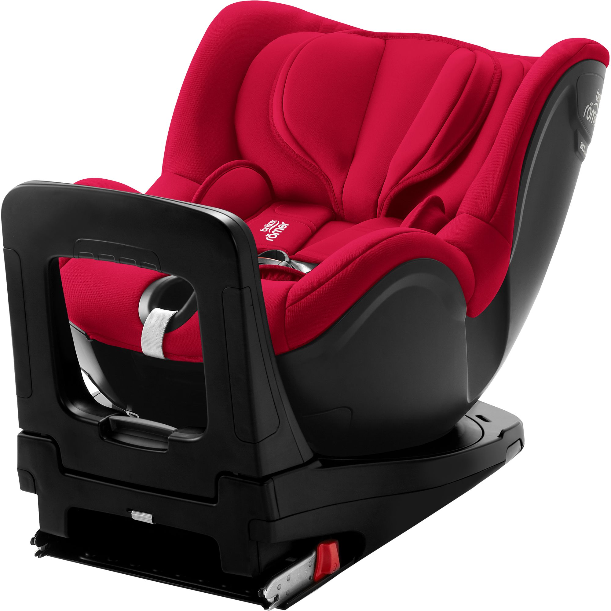 Autosedačka Dualfix i-Size, Fire Red