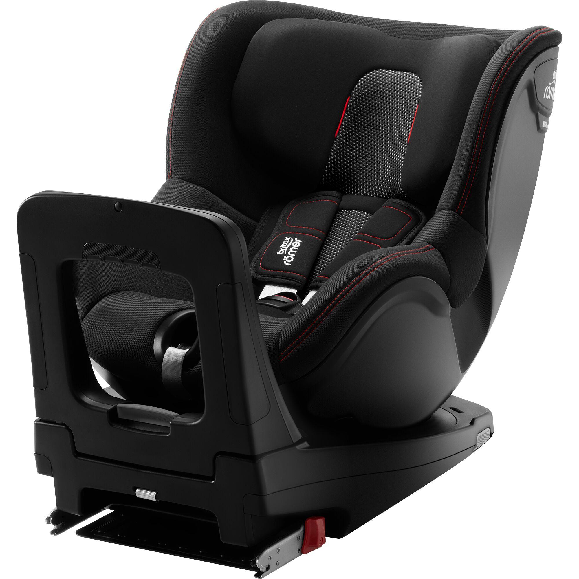 Autosedačka Dualfix M i-Size, Cool Flow - Black