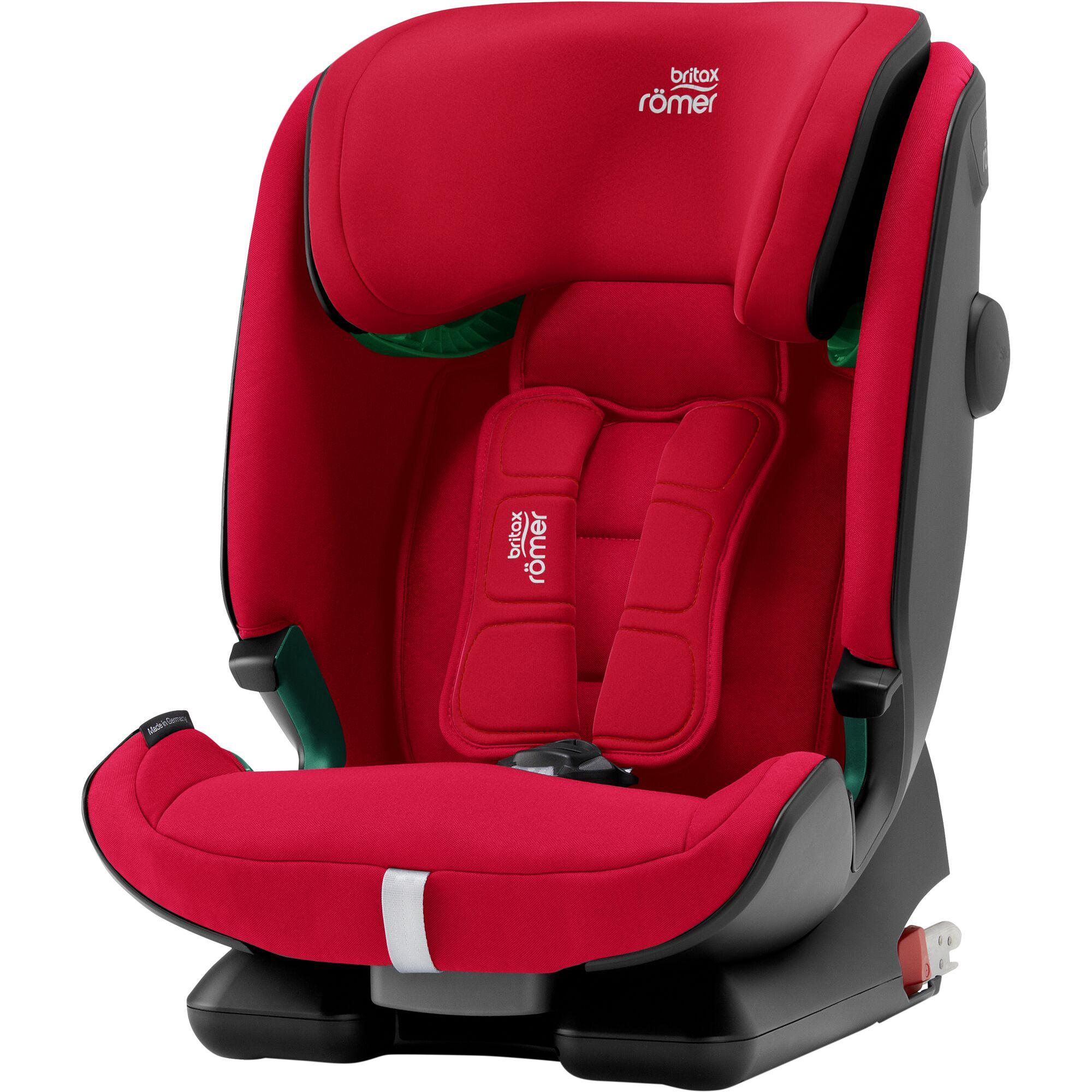 Autosedačka Advansafix i-Size, Fire Red
