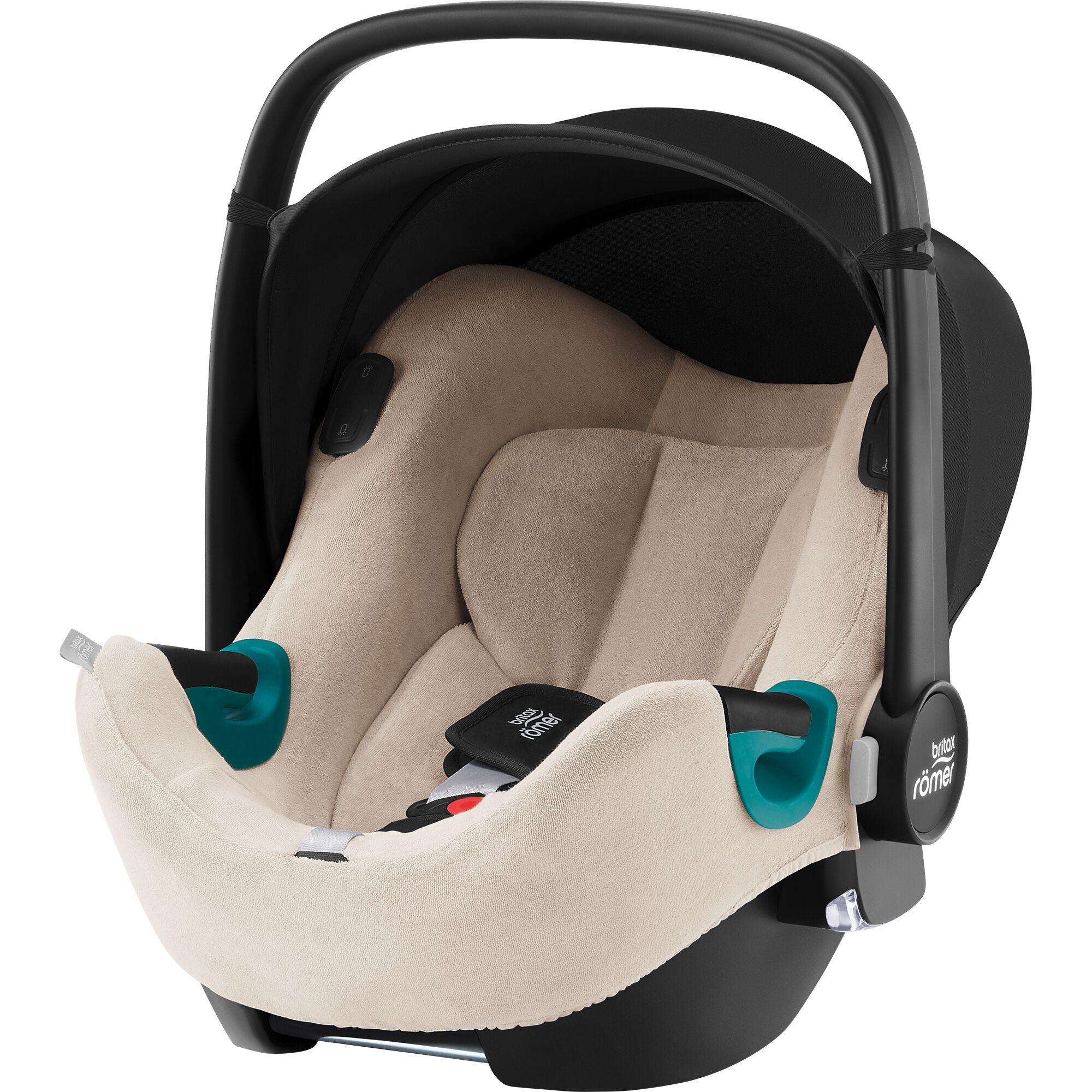 Letní potah Baby-Safe 2/3/i-Size/iSense, Beige