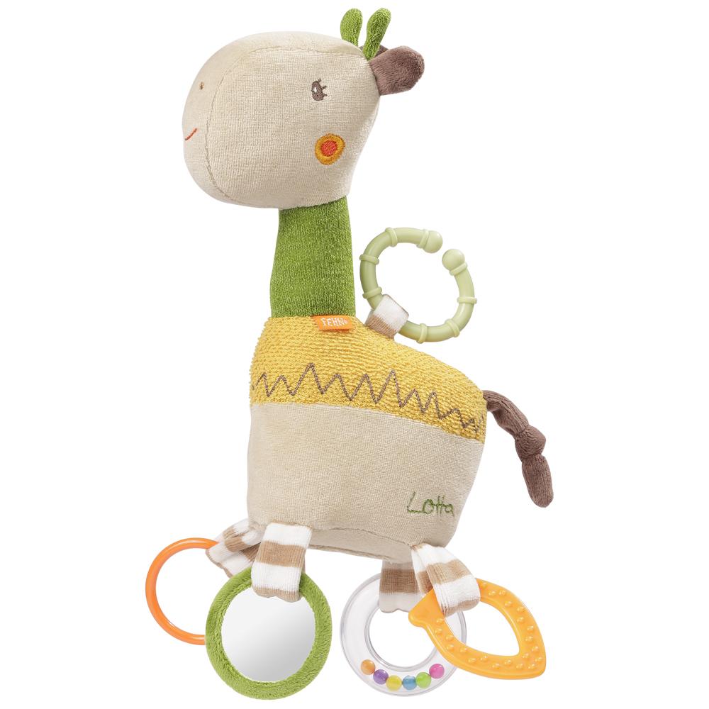 Aktivity hračka žirafa, Loopy&Lotta Žirafa