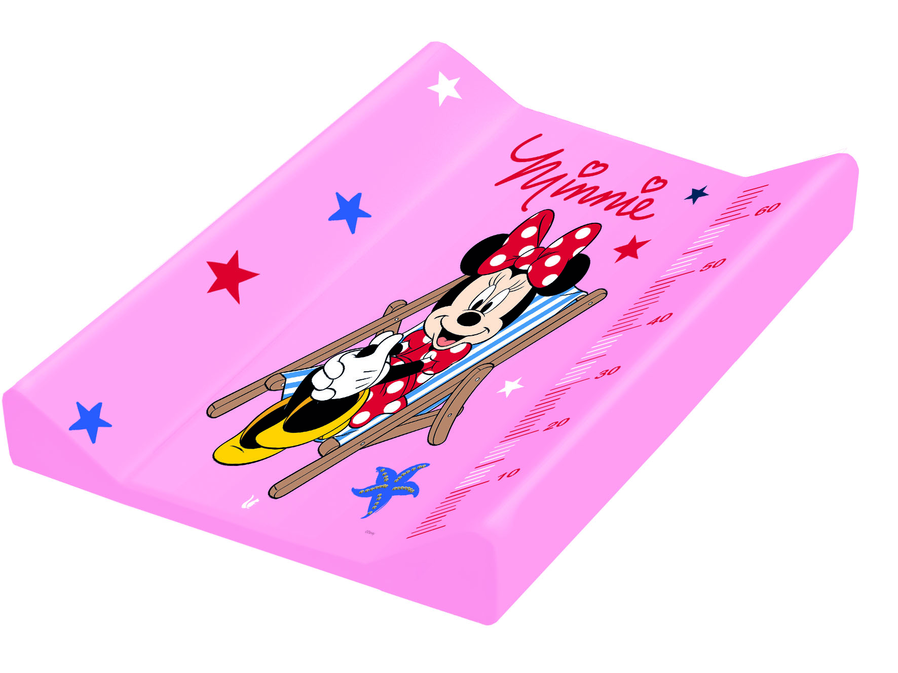 """Přebalovací podložka """"Minnie"""", Růžová"""