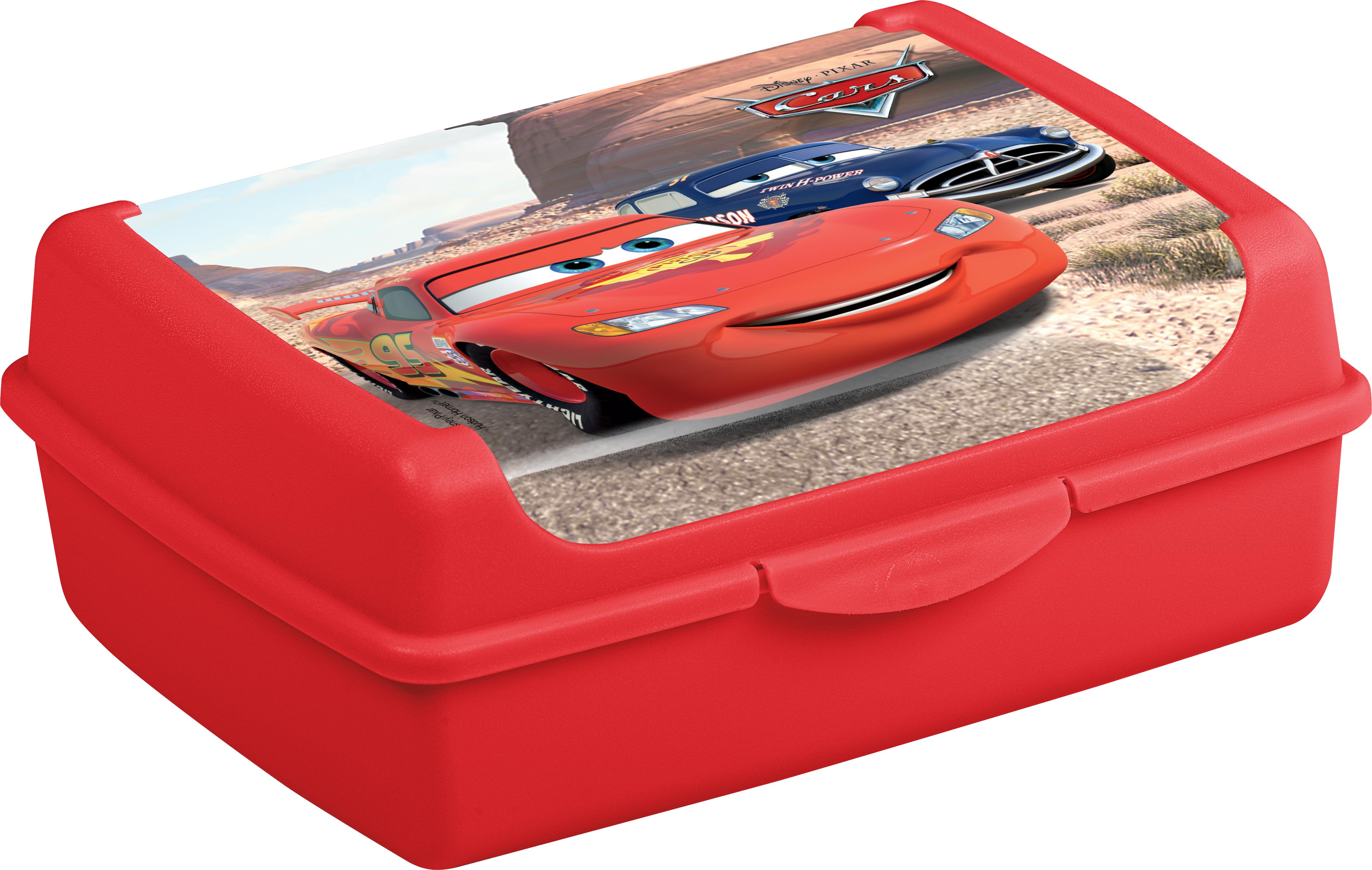 """Svačinový box """"Cars"""", Červená"""
