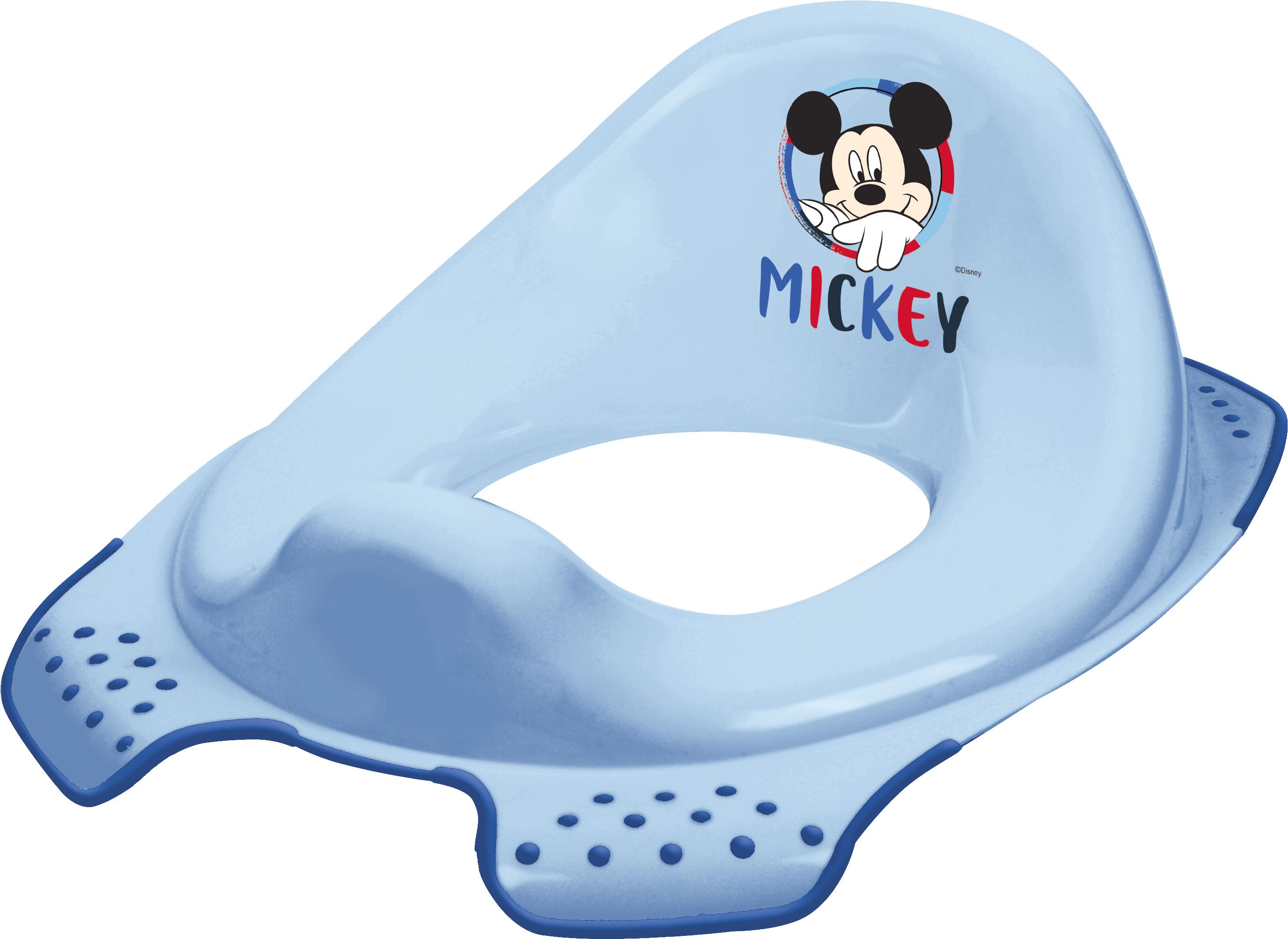 """Adaptér na WC """"Mickey"""", Modrá"""