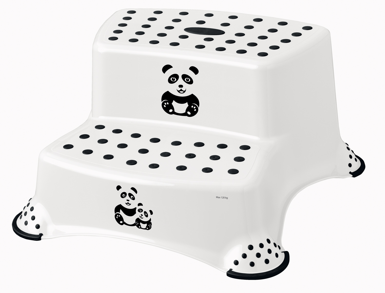 """Dvojstupínek k WC/umyvadlu """"Panda"""", Bílá"""