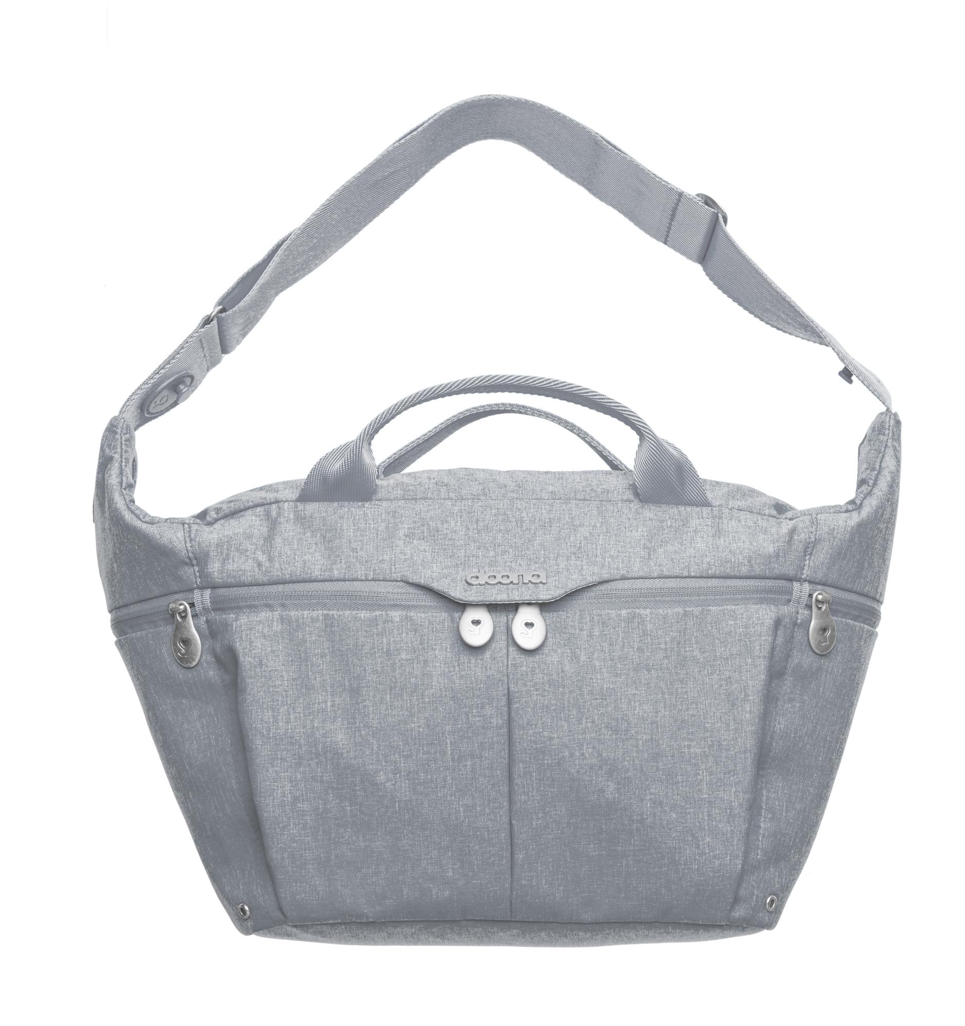 Celodenní přebalovací taška, Grey