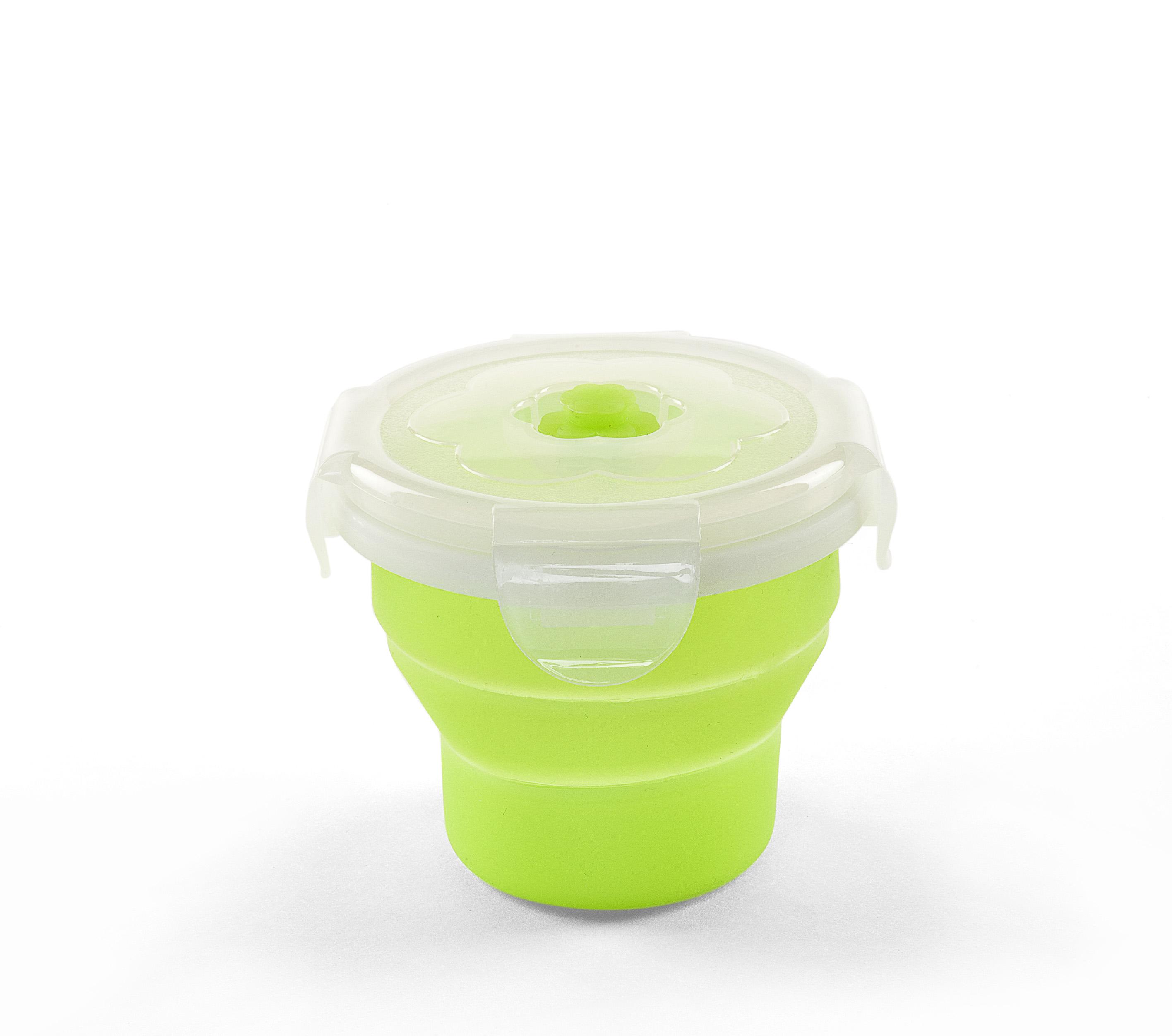 Skládací silikonová miska 230ml, Greenn