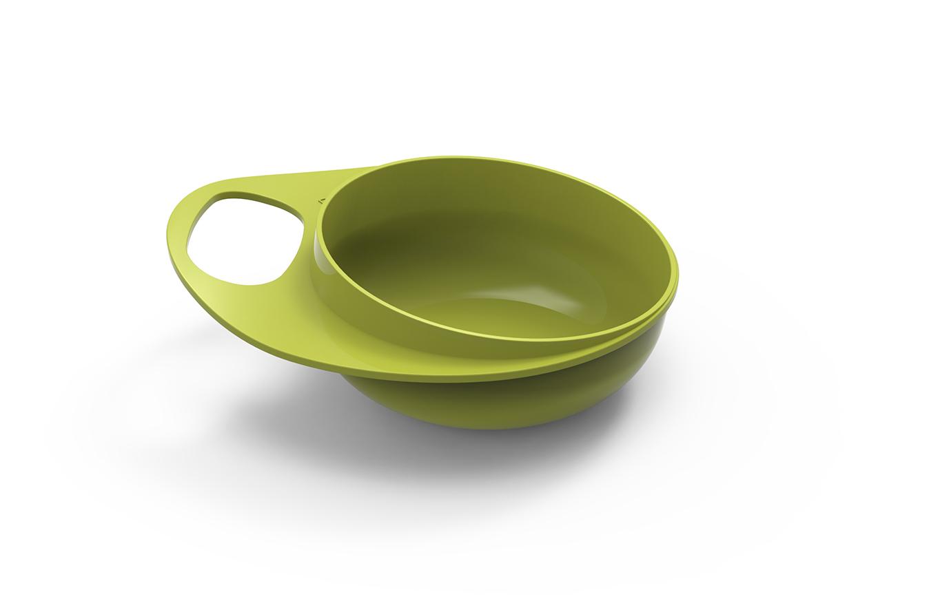 Plastové misky 2ks, Green