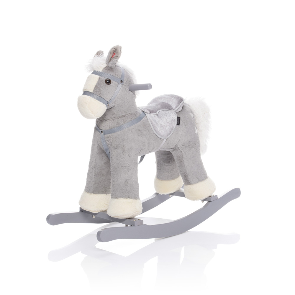 Houpací kůň šedý TWINKIE