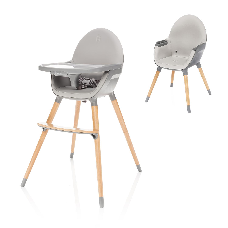 Dětská židlička Dolce, Dove Grey/Grey