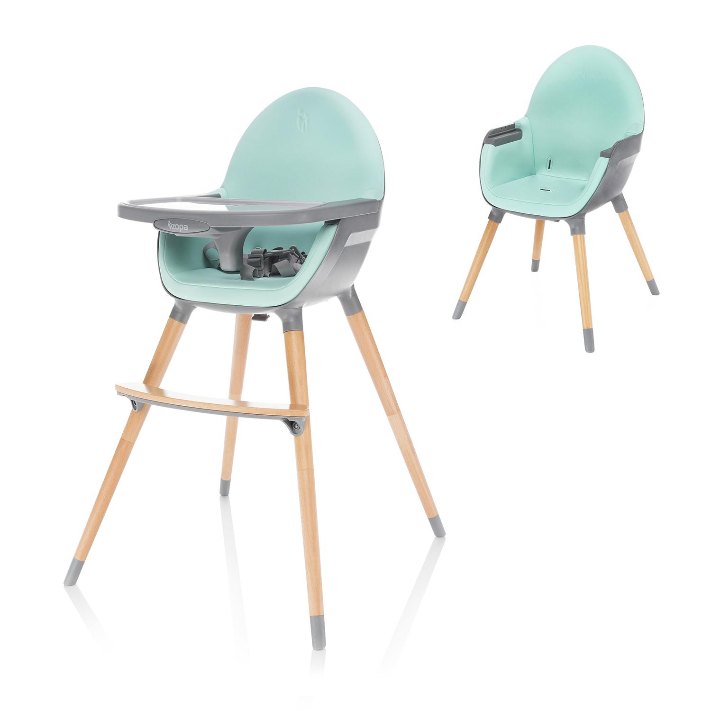 Dětská židlička Dolce, Ice Green/Grey