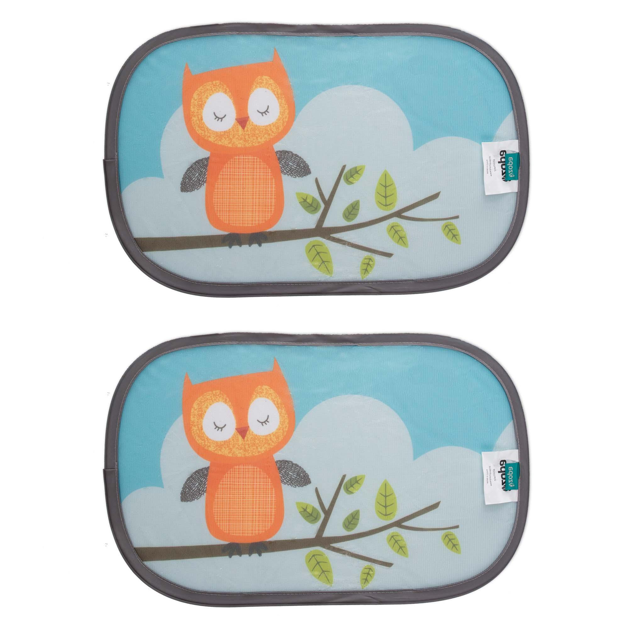 Sluneční clona do auta zvířátka, Owl
