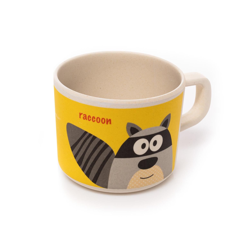Bambusový hrníček, Raccoon