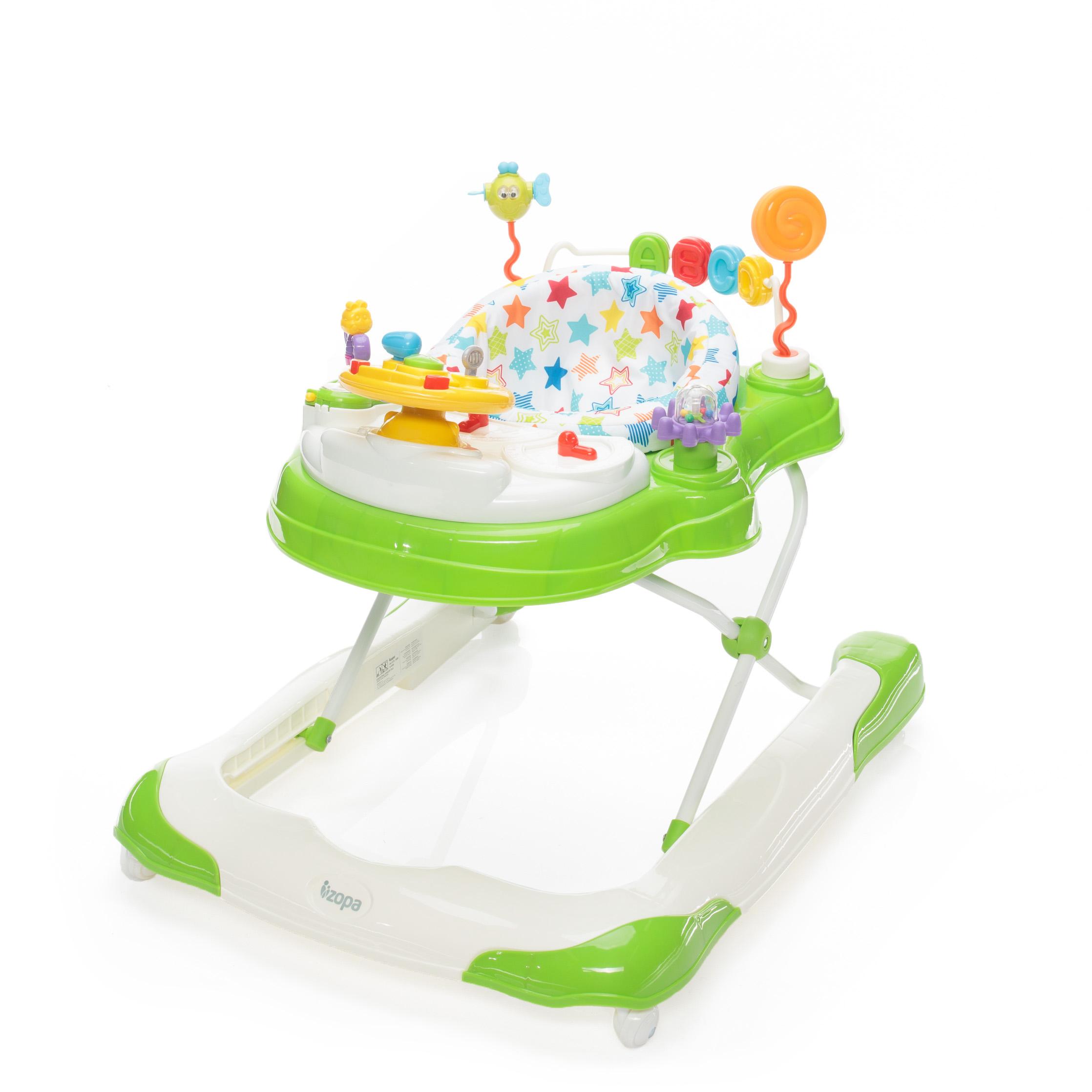 Dětské chodítko Moby 3v1, Jelly Green