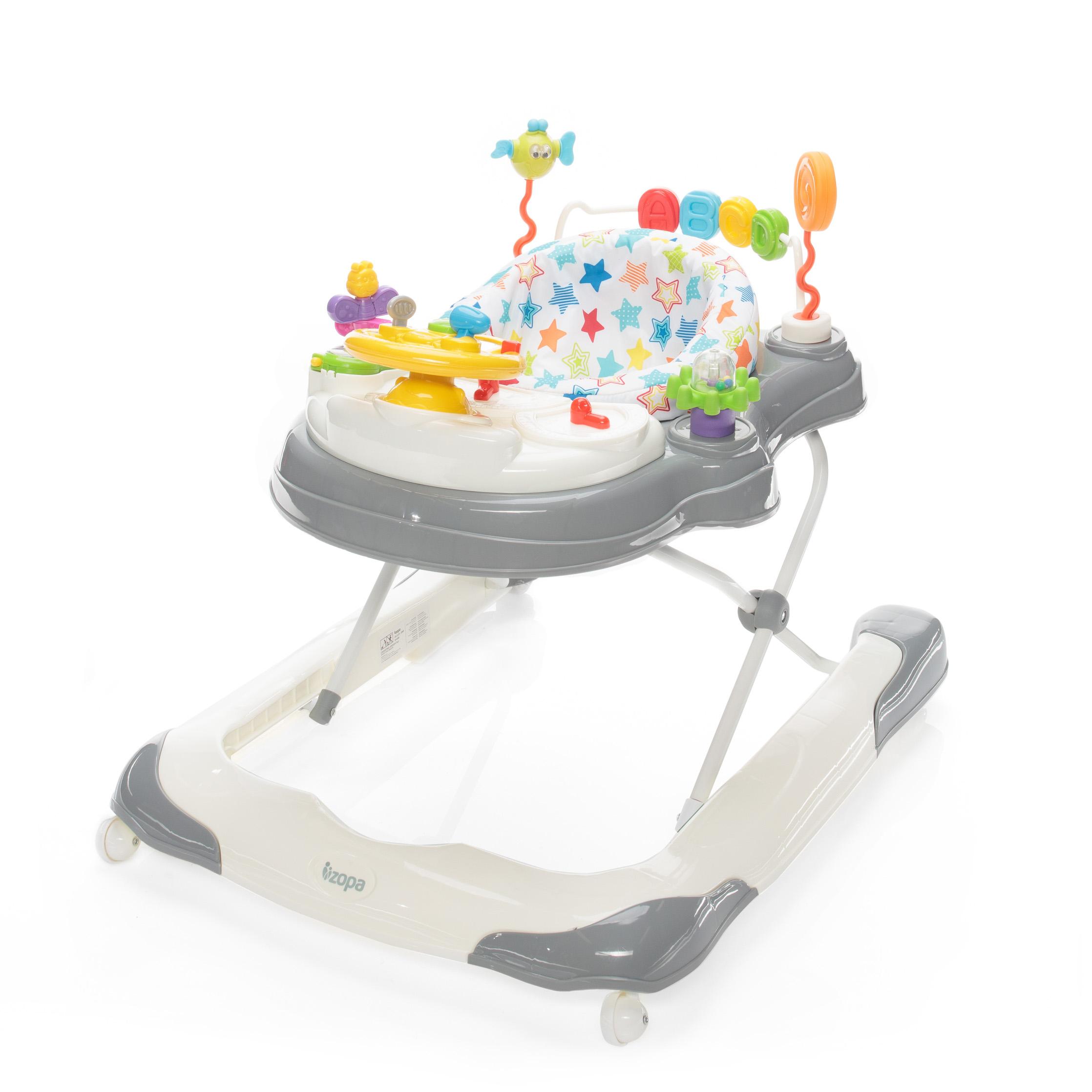 Dětské chodítko Moby 3v1, Mirage Grey