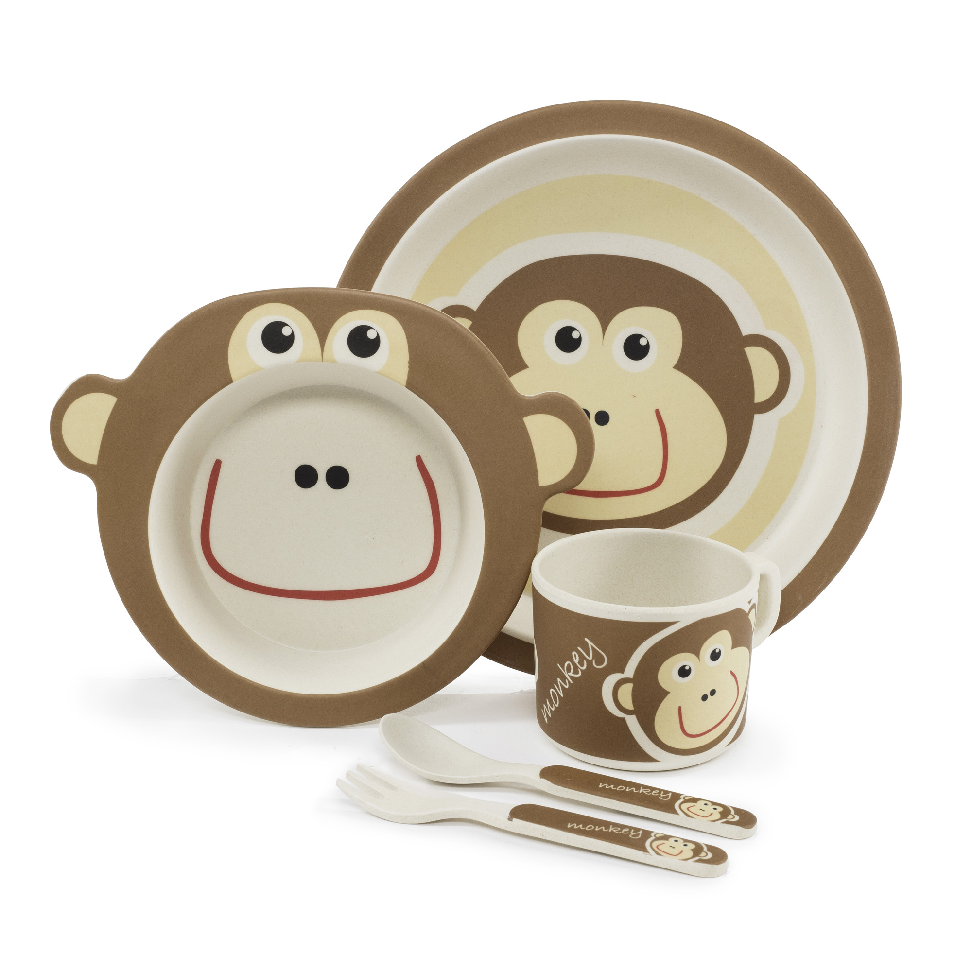 Bambusová sada nádobí, Monkey