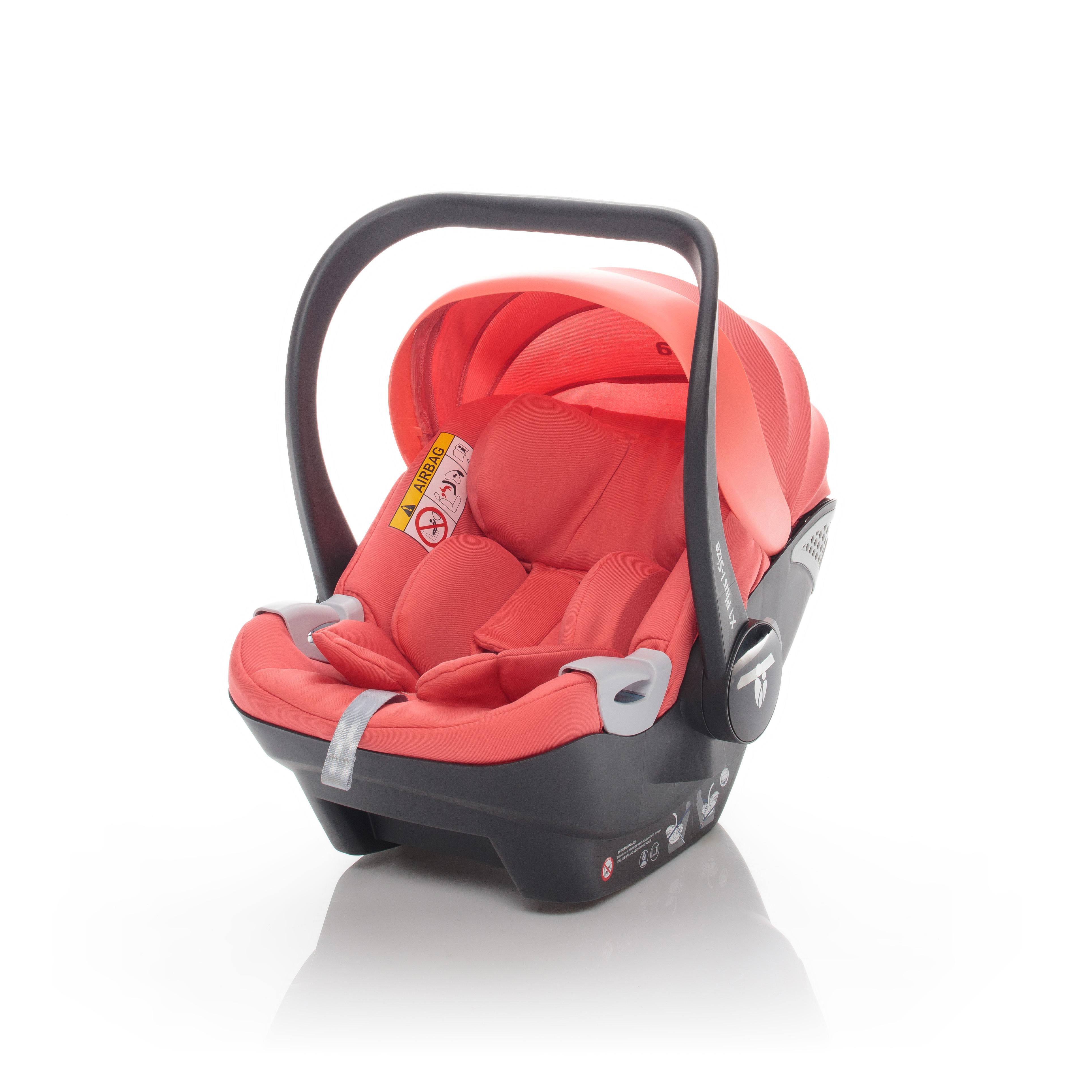 Autosedačka X1 Plus i-Size, Coral Red