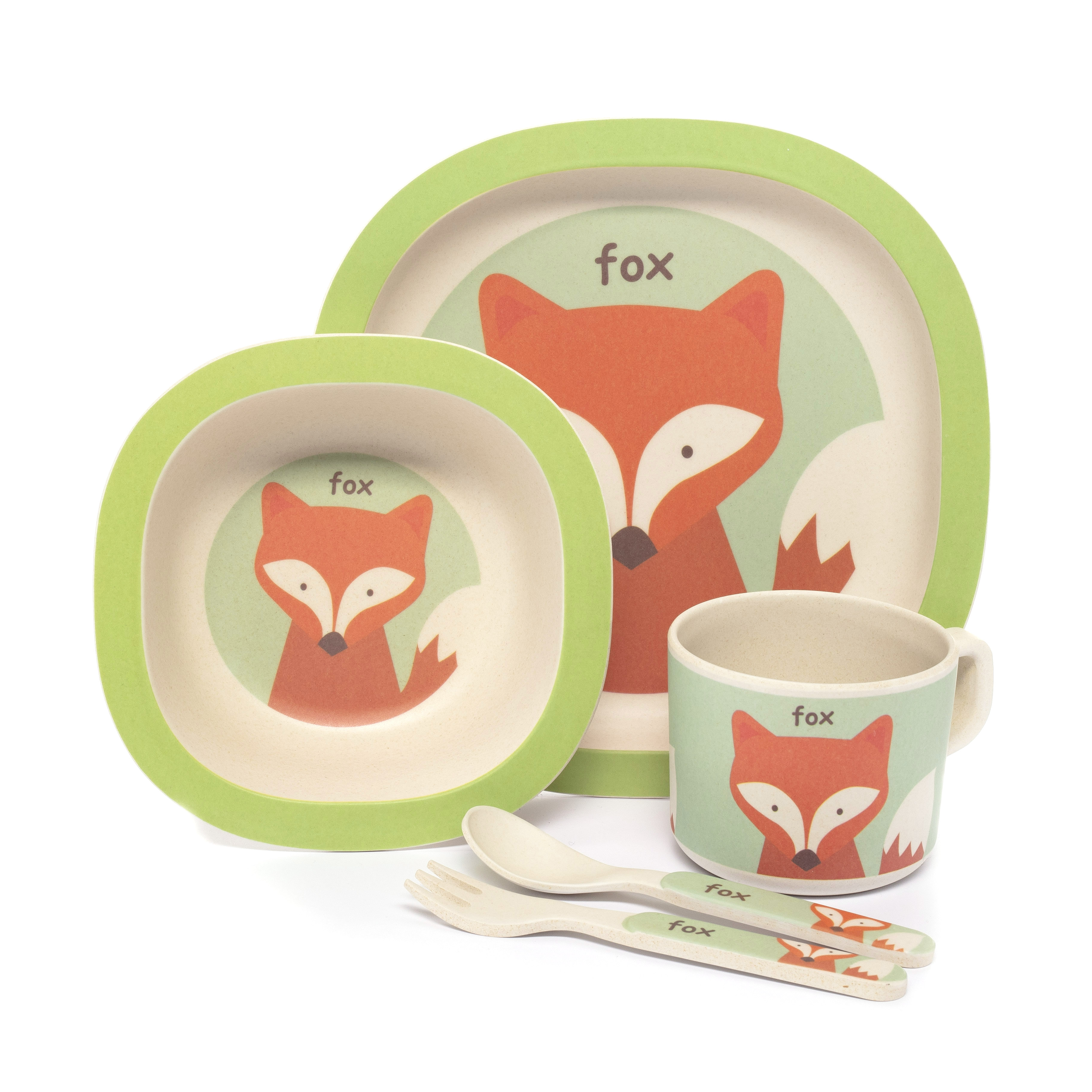 Bambusová sada nádobí, Fox