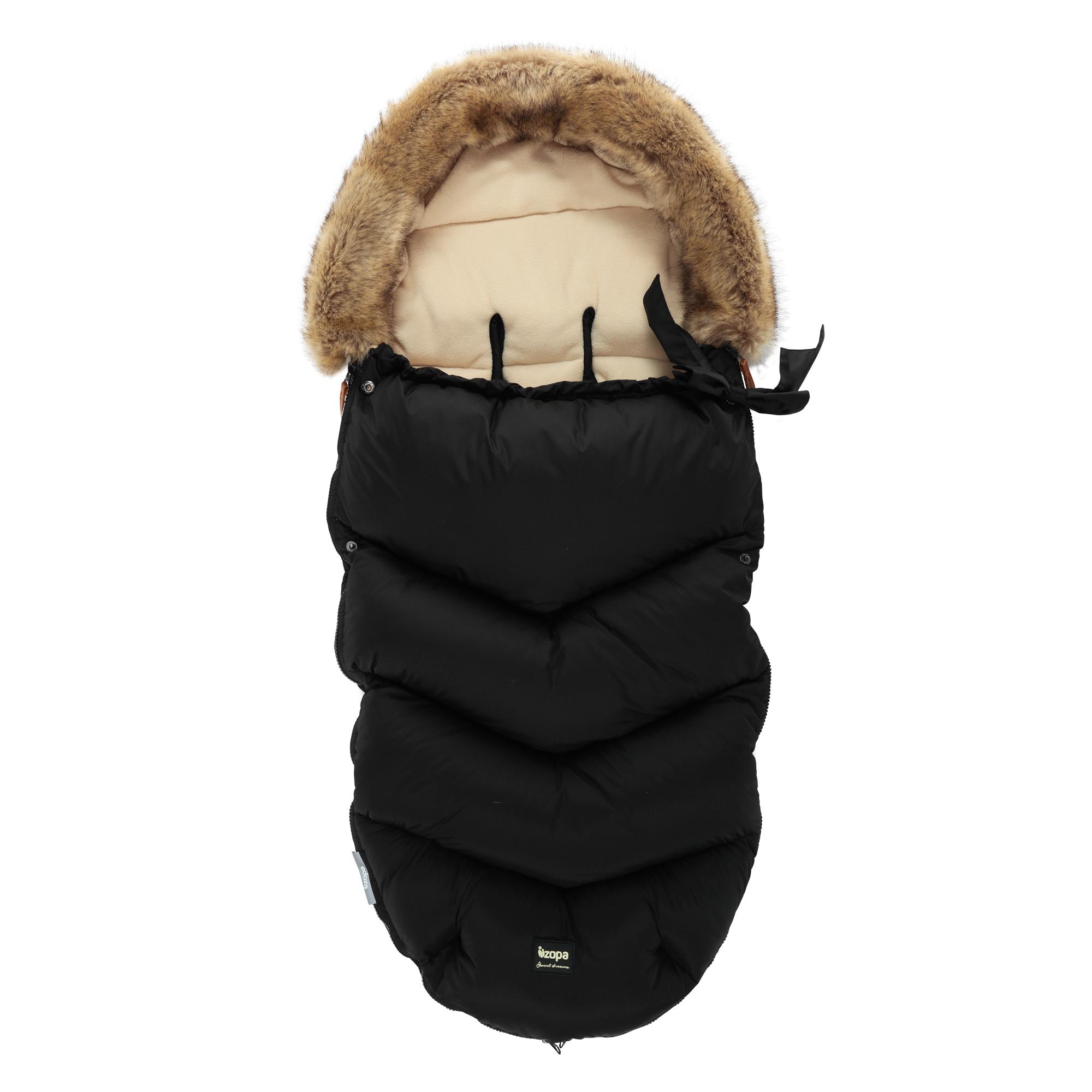 Zimní fusak Fluffy, Night Black