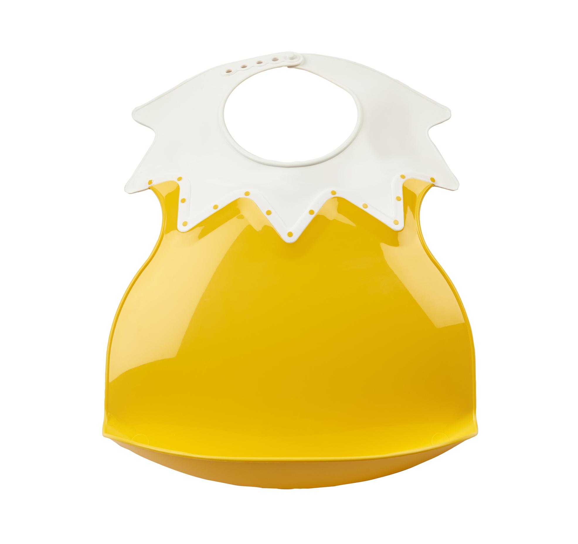 THERMOBABY  Plastový bryndák s límcem, Pineapple