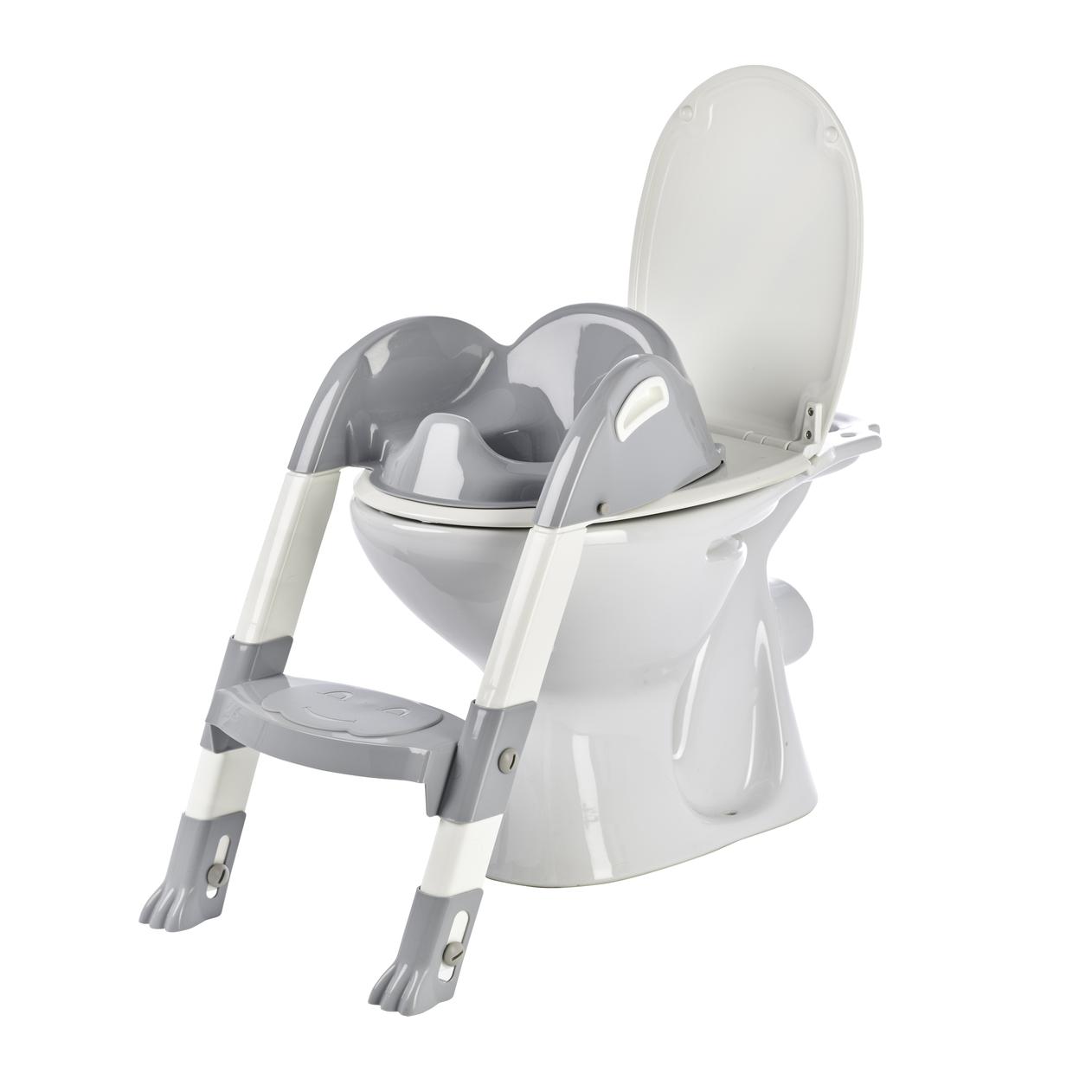 Židlička na WC Kiddyloo, Grey Charm