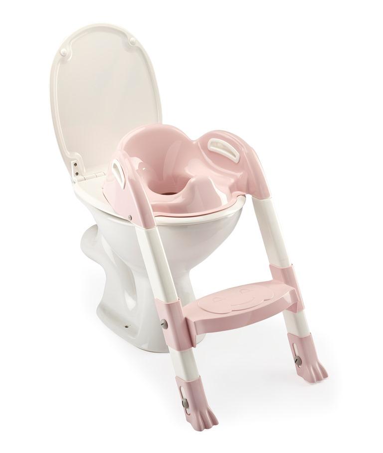 Židlička na WC Kiddyloo, Powder Pink