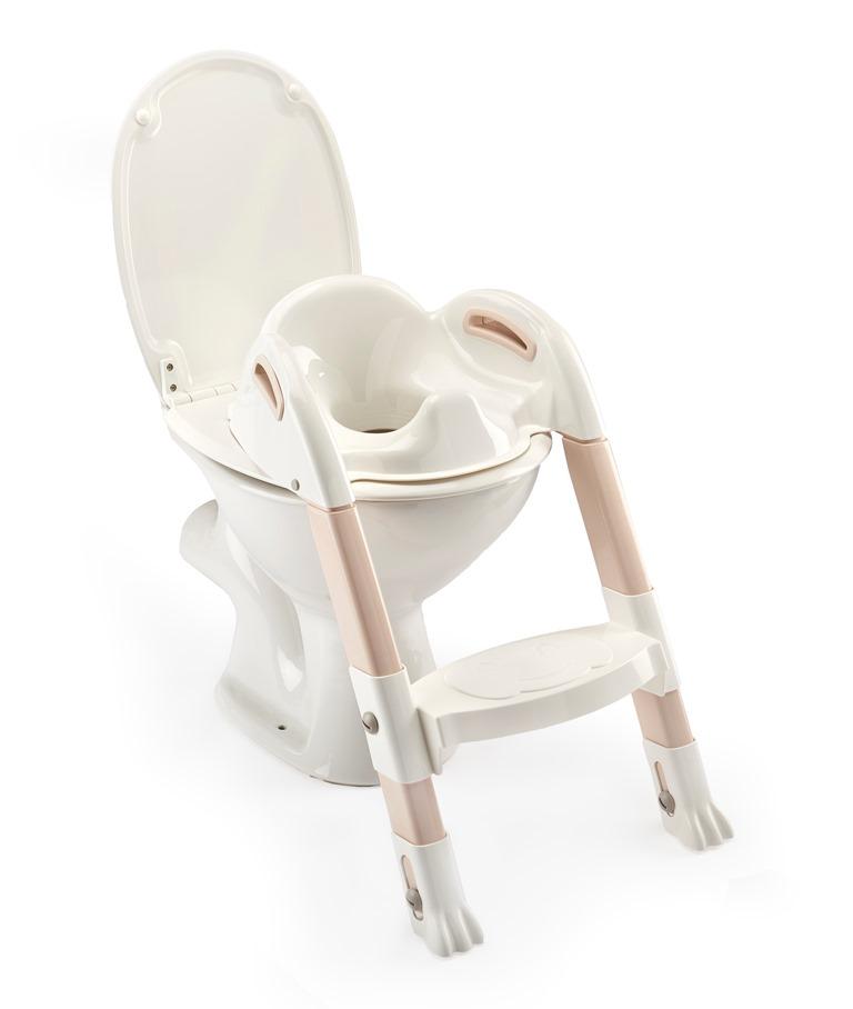 Židlička na WC Kiddyloo, Off White