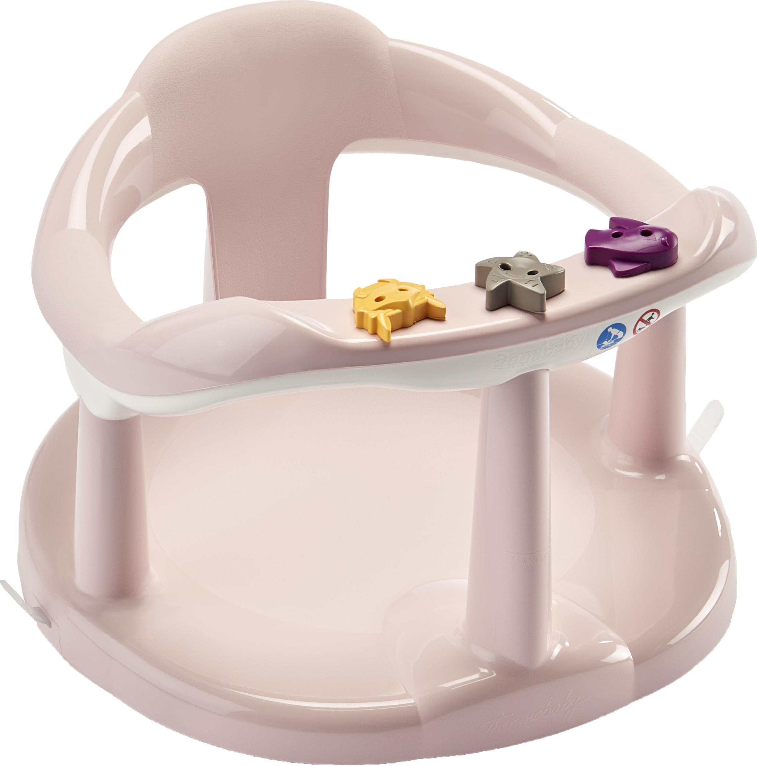 THERMOBABY  Sedátko do vany Aquababy, Powder Pink