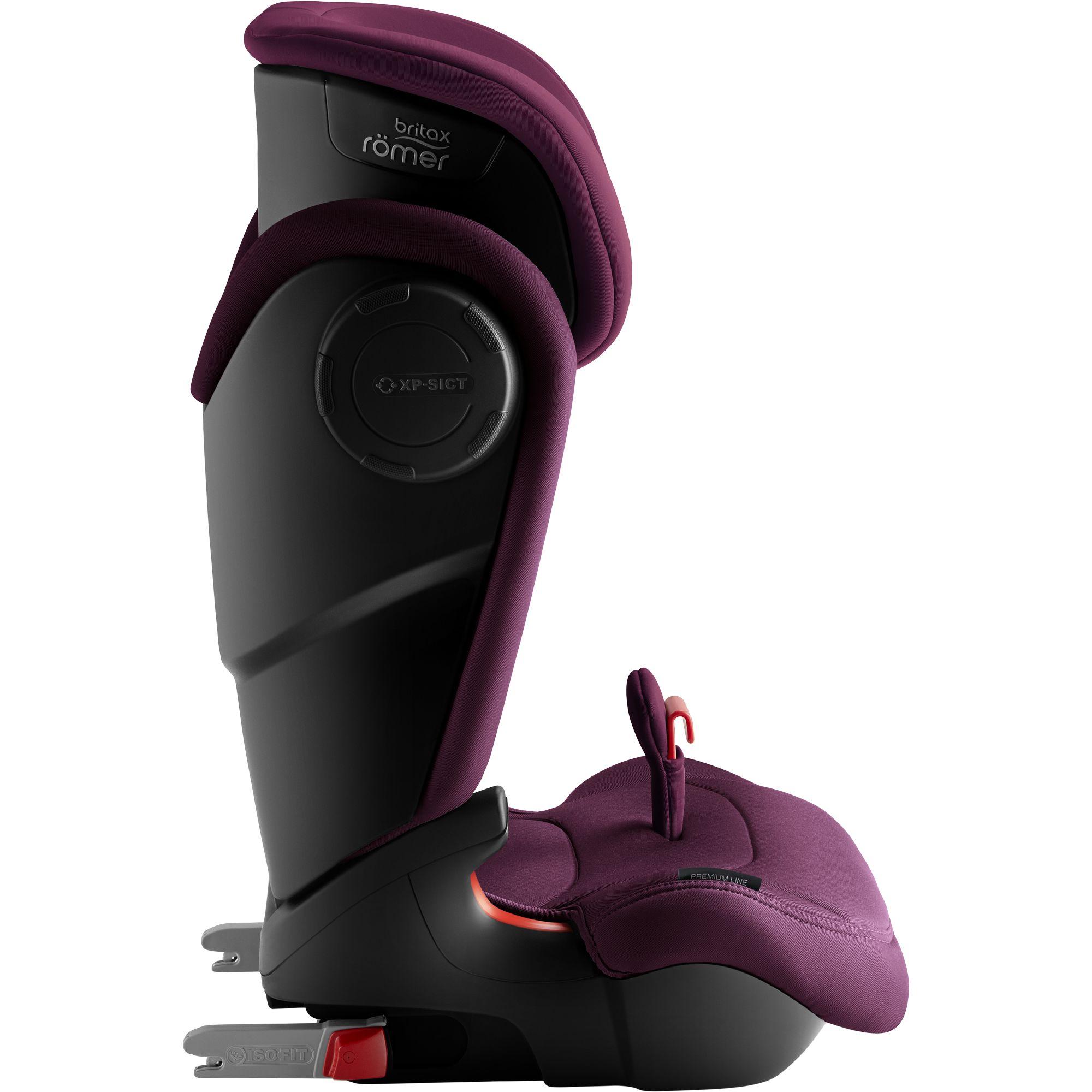 Autosedačka Kidfix III M, Burgundy Red
