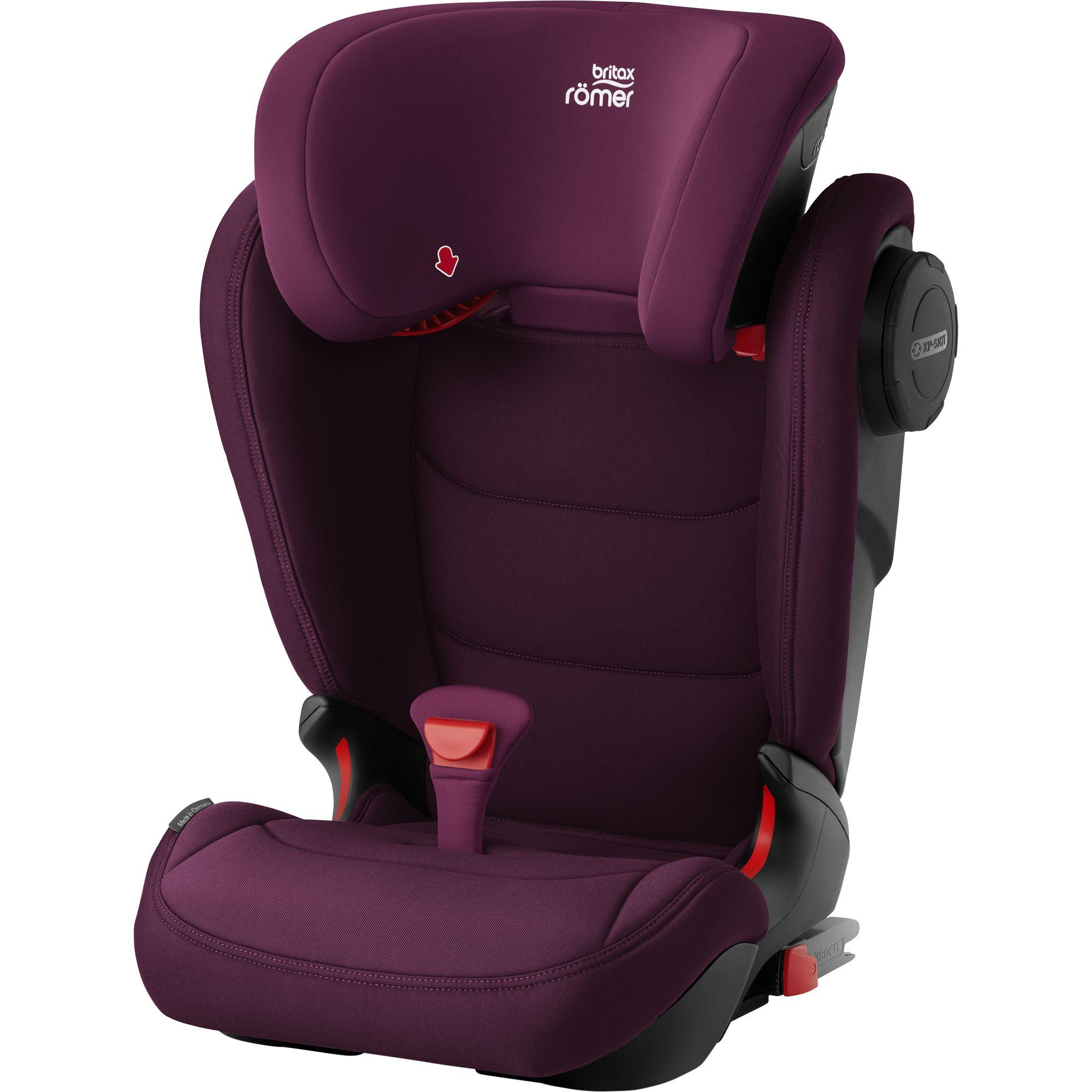ROMER Kidfix III M Burgundy Red 2020