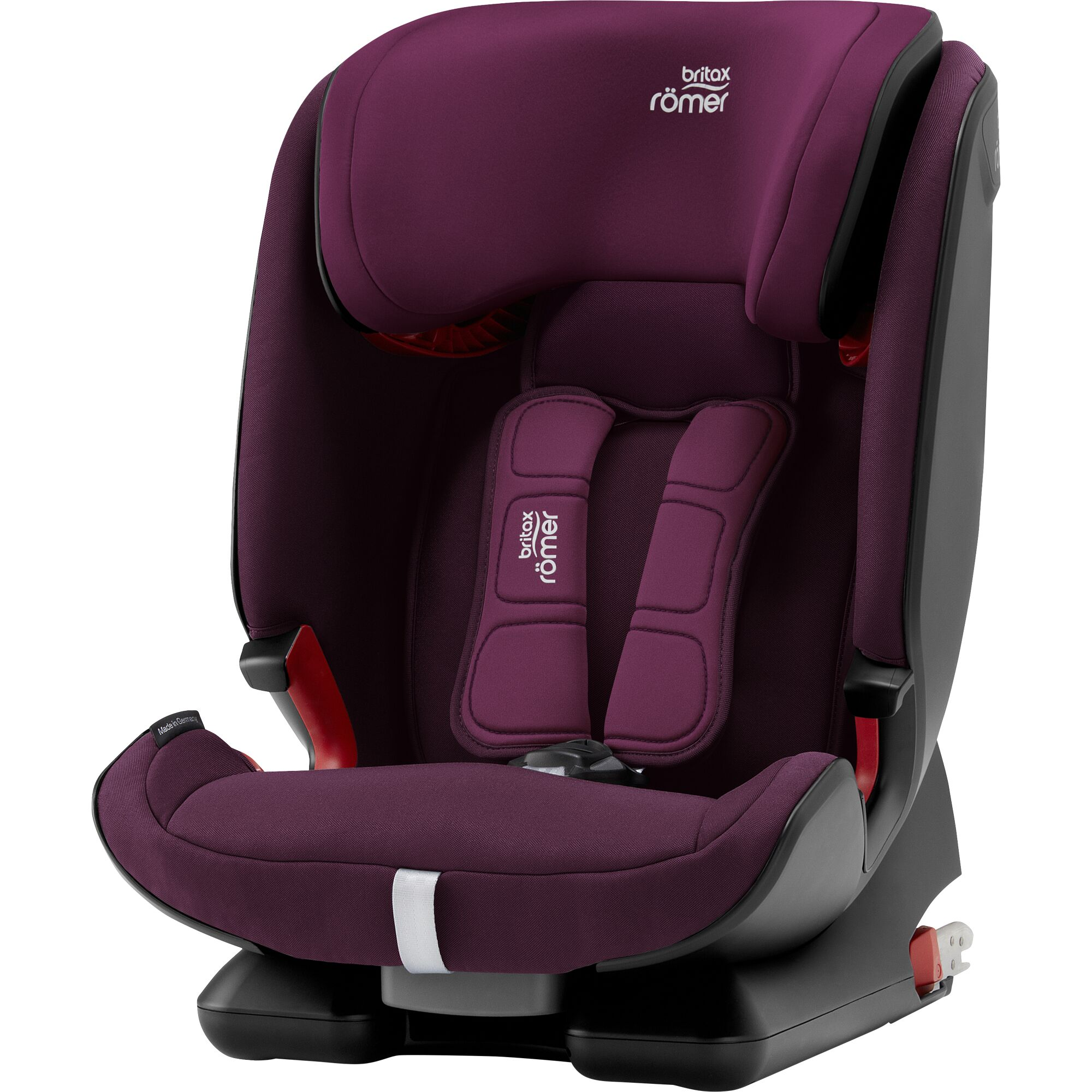 ROMER Advansafix IV M 2020 Burgundy Red