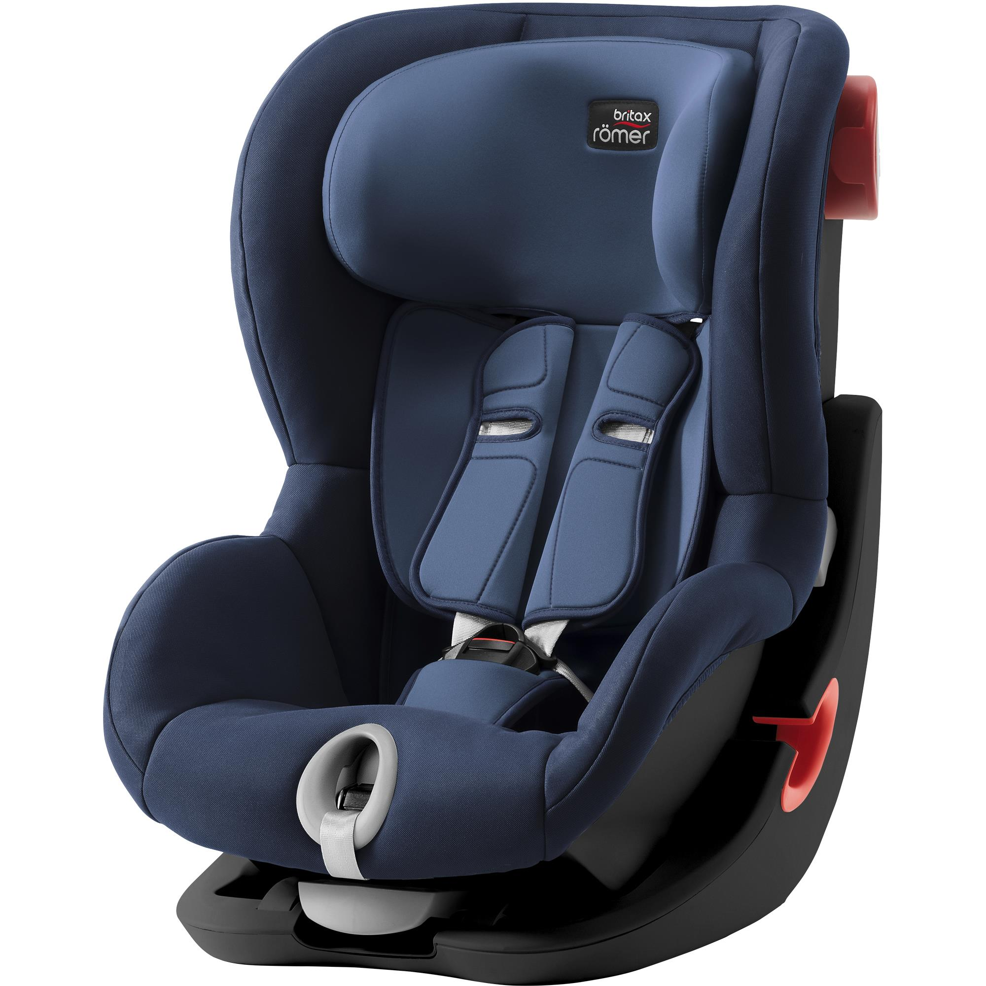 BRITAX  Autosedačka King II Black, Moonlight Blue S
