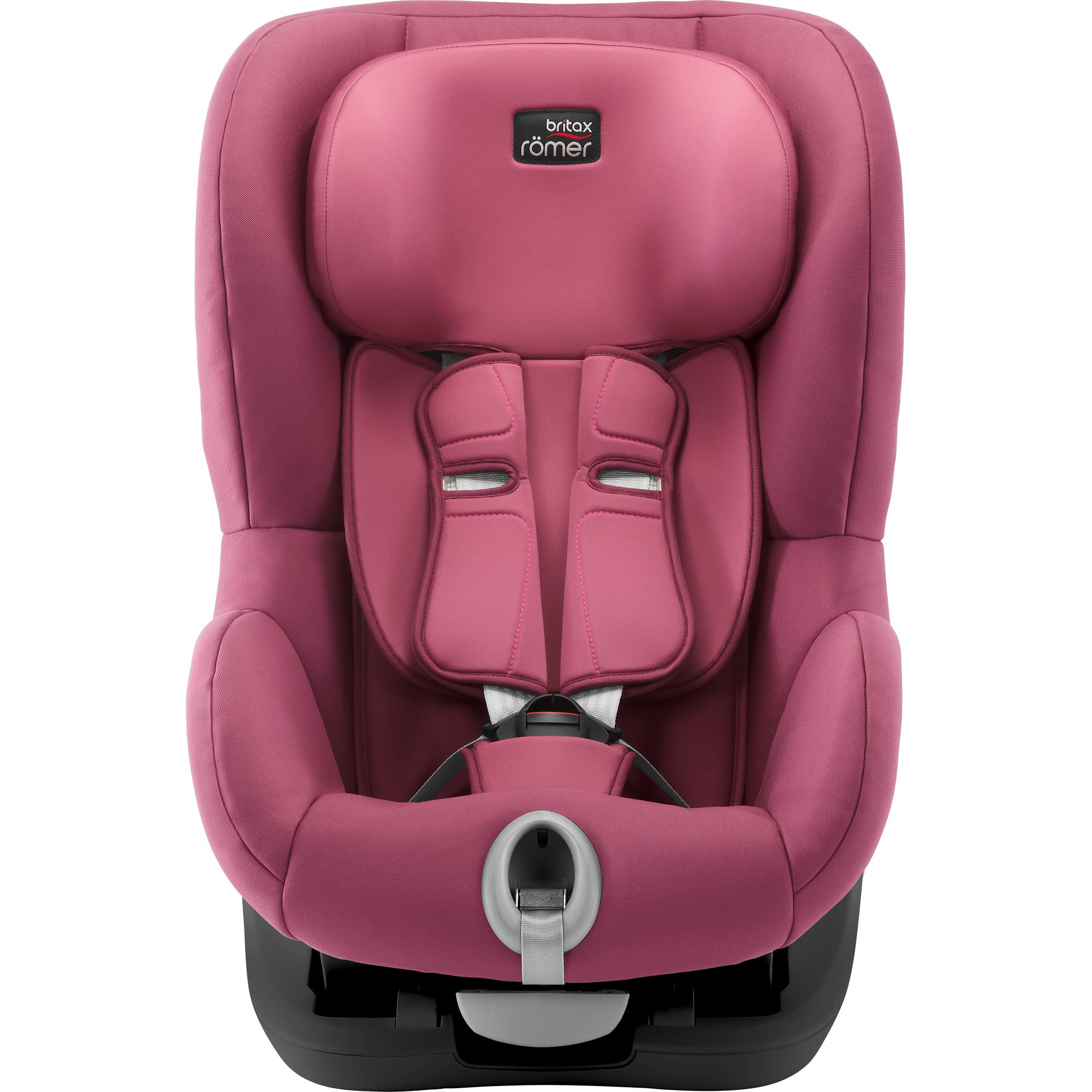 Autosedačka Britax Römer King II Black Series - Wine Rose