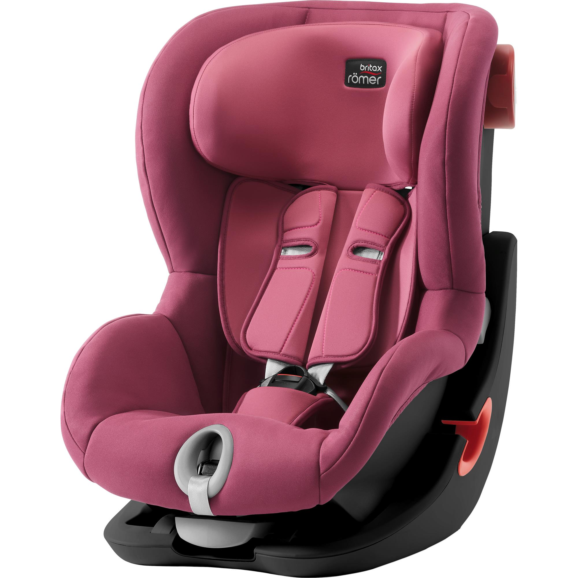 BRITAX  Autosedačka King II Black, Wine Rose S