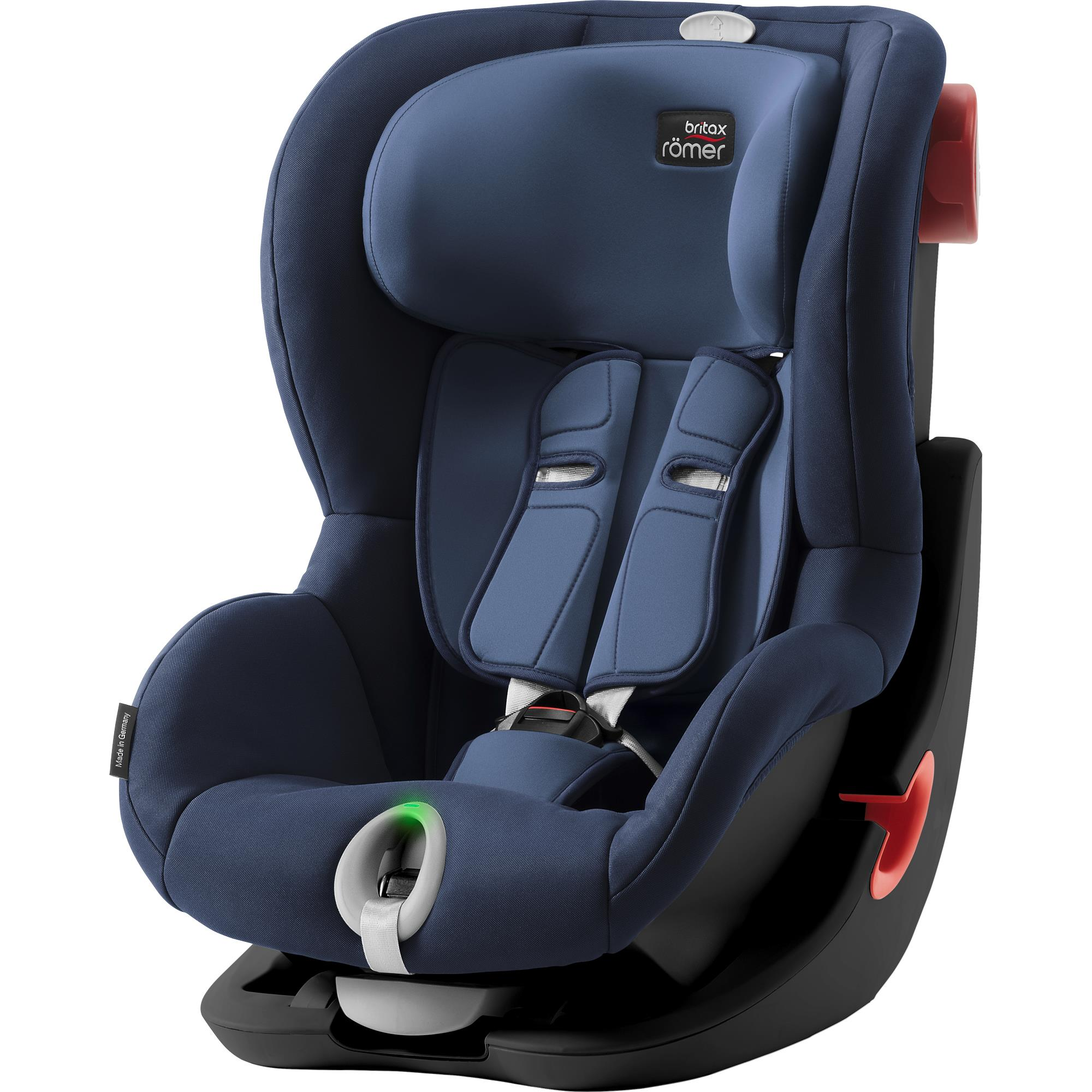 BRITAX  Autosedačka King II LS Black, Moonlight Blue S