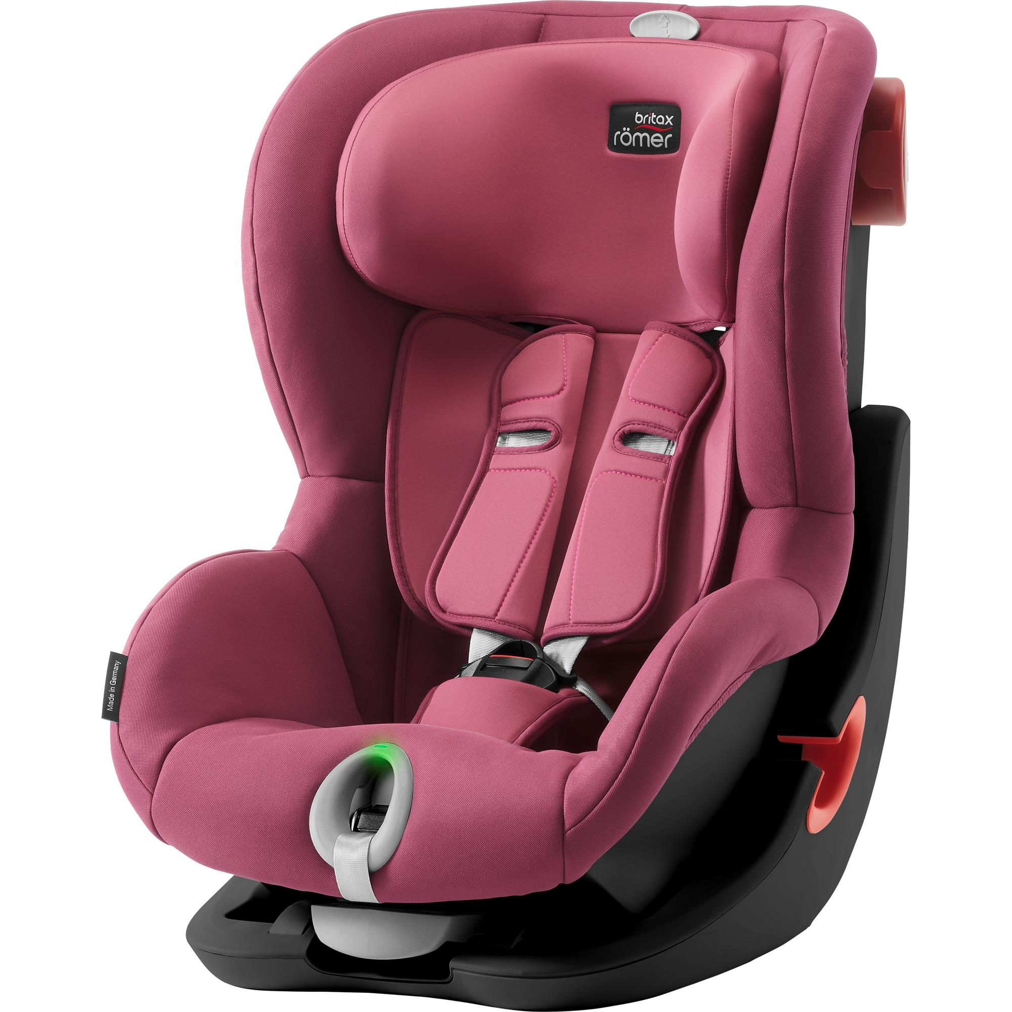 BRITAX  Autosedačka King II LS Black, Wine Rose S