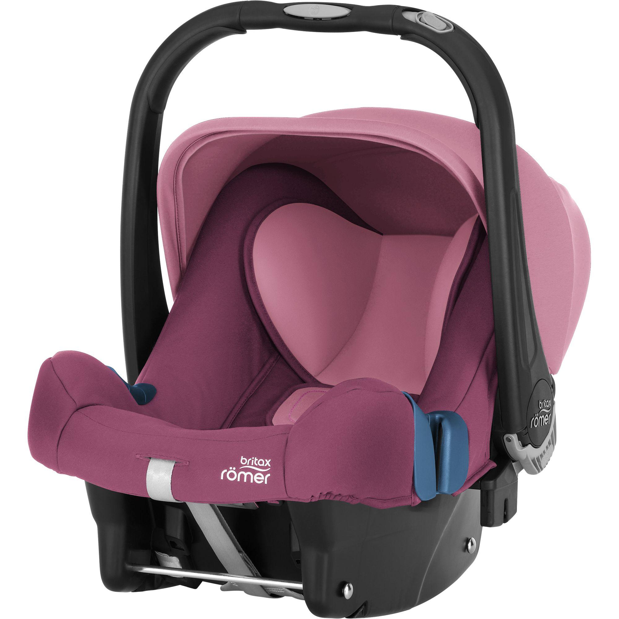 Autosedačka Baby-Safe Plus SHR II, Wine Rose