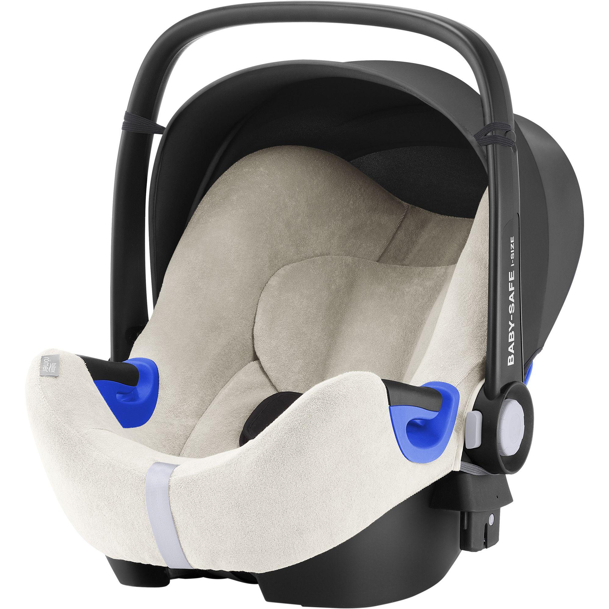 Letní potah Baby-Safe (2) i-Size, Off-White