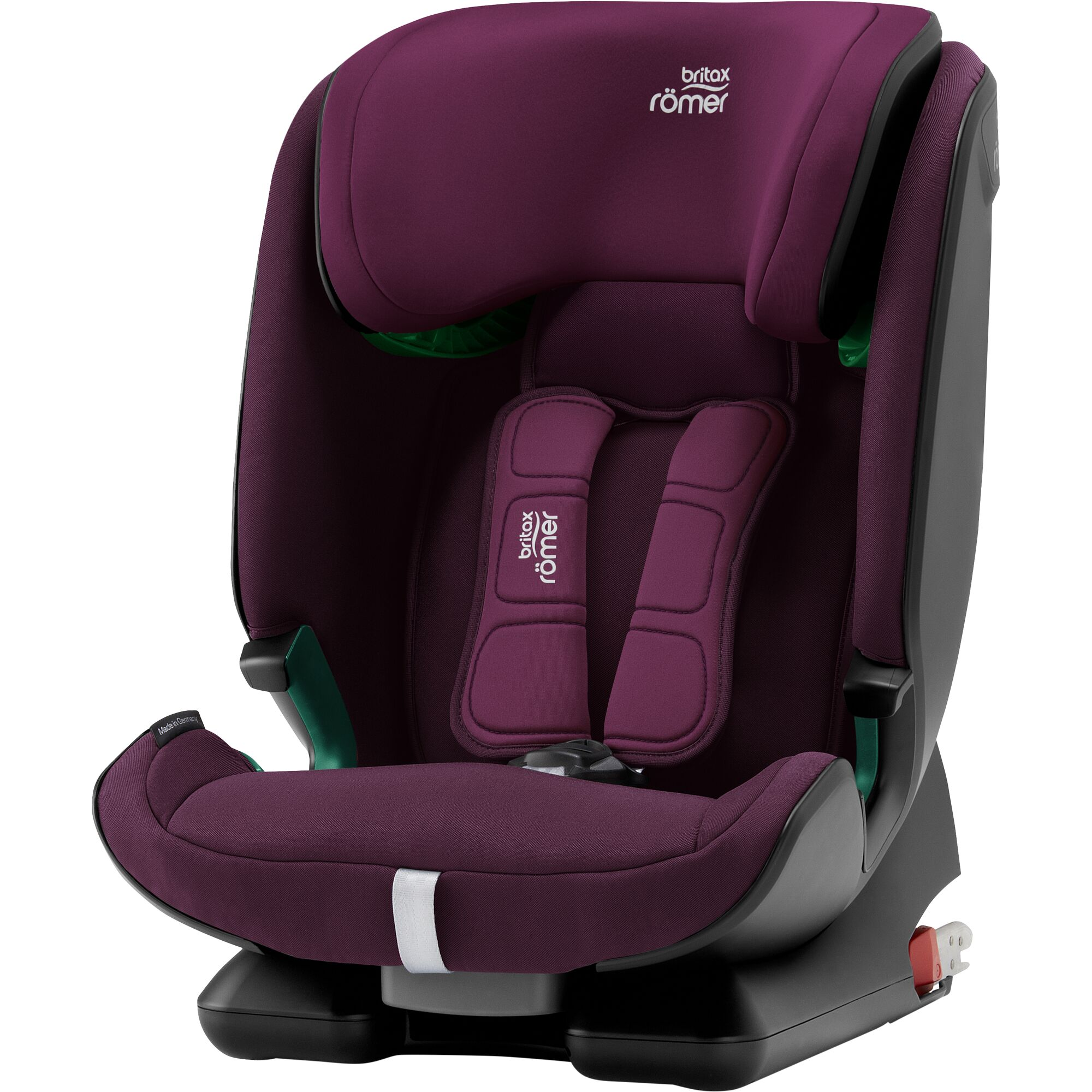 ROMER Advansafix M i-Size 2020 Burgundy Red