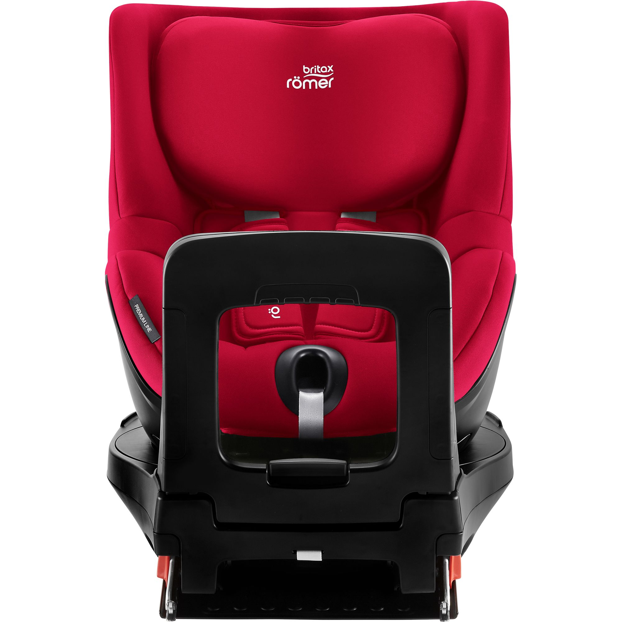 Autosedačka Dualfix M i-Size, Fire Red
