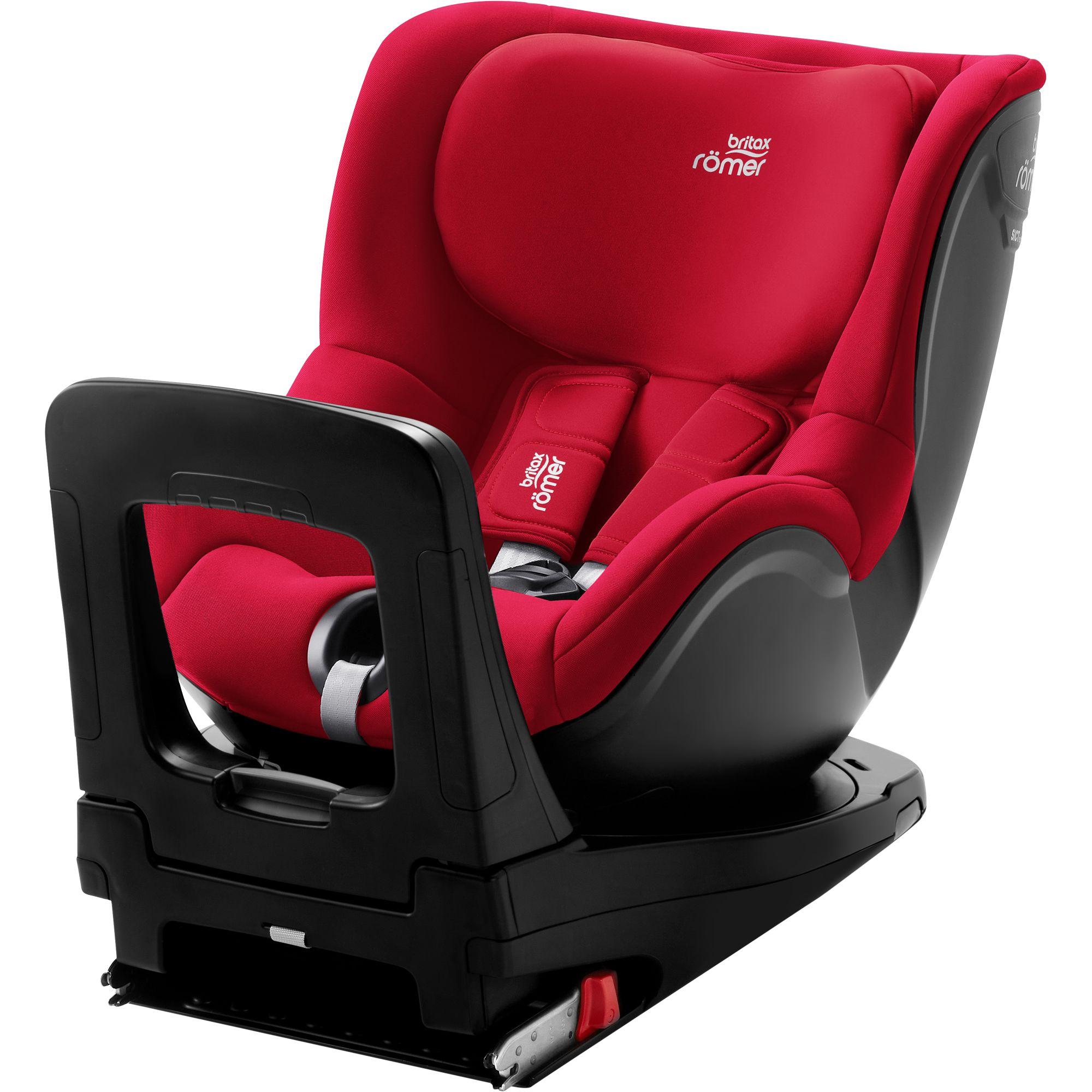 ROMER Dualfix M i-Size Fire Red 2020