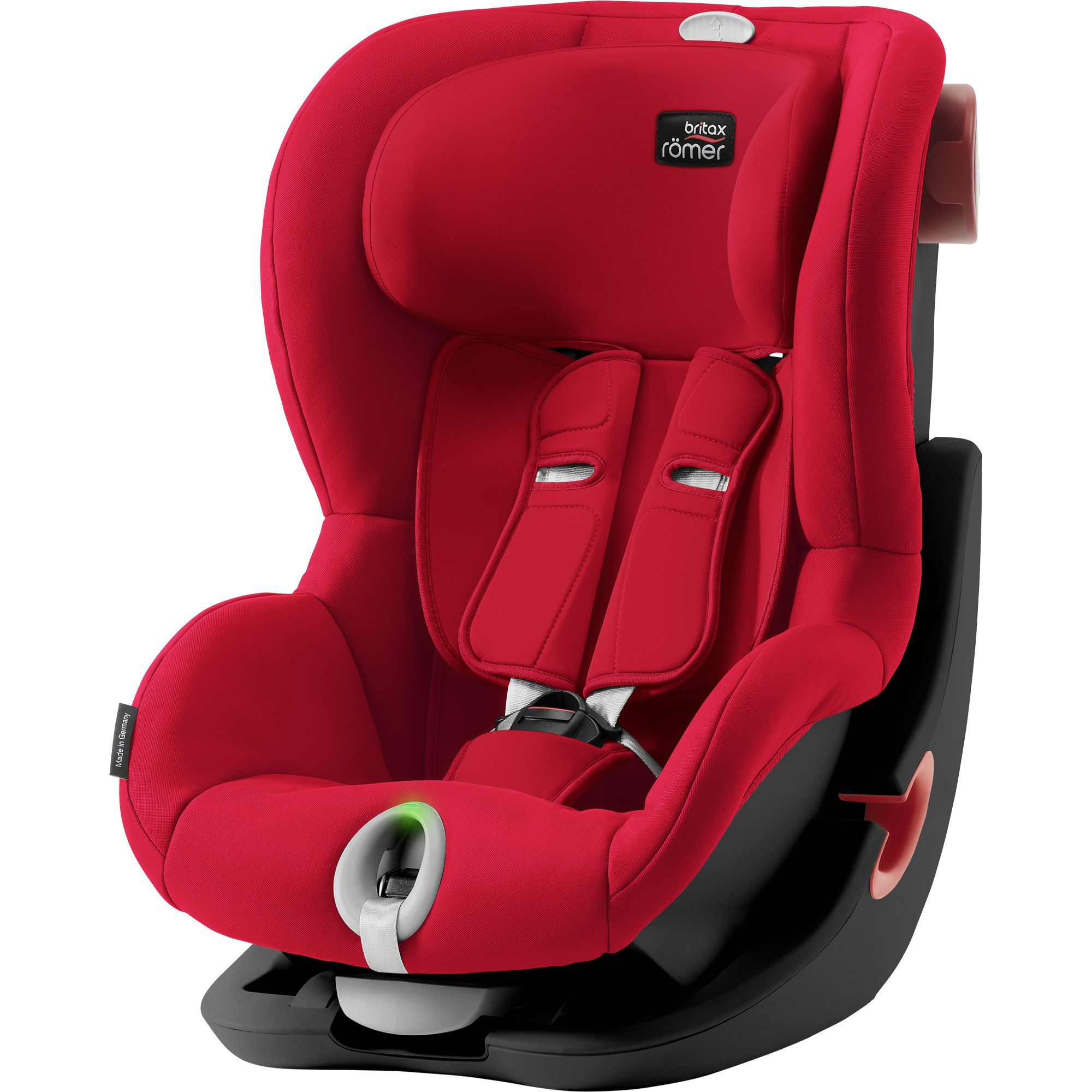 BRITAX  Autosedačka King II LS Black, Fire Red