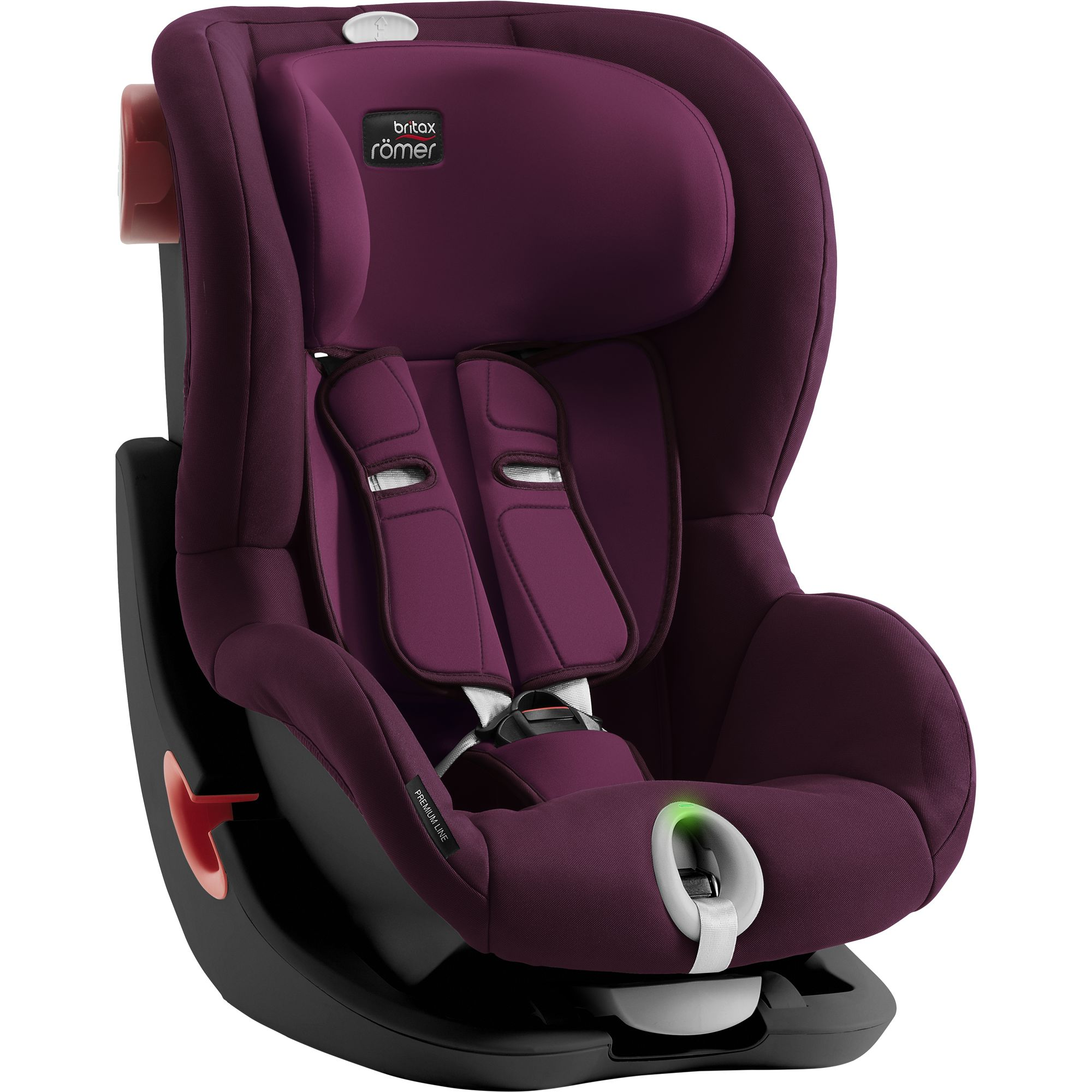 Autosedačka Britax Römer King II LS Black Series - Burgundy Red
